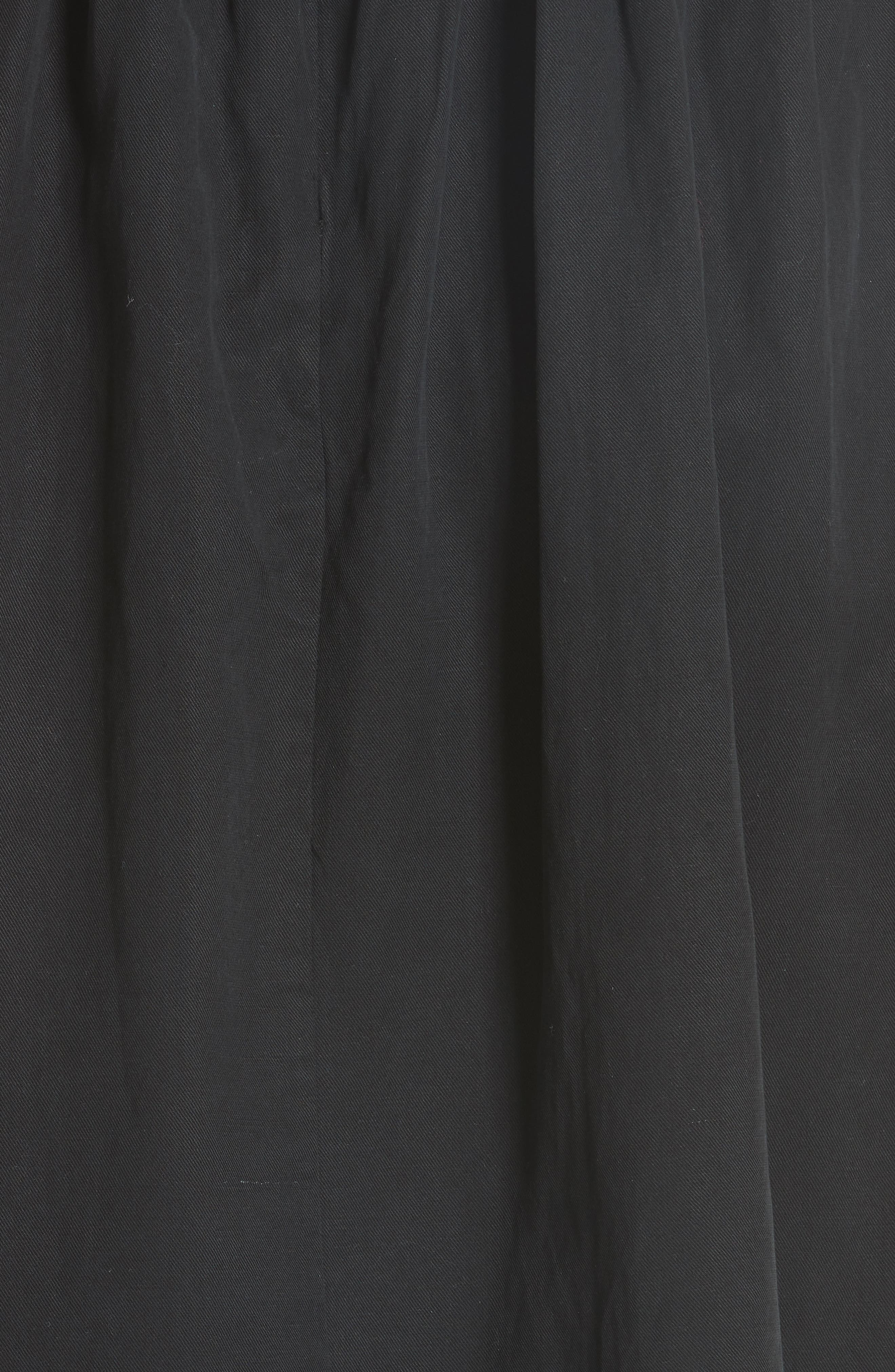 Willa Pinafore Dress,                             Alternate thumbnail 5, color,                             001