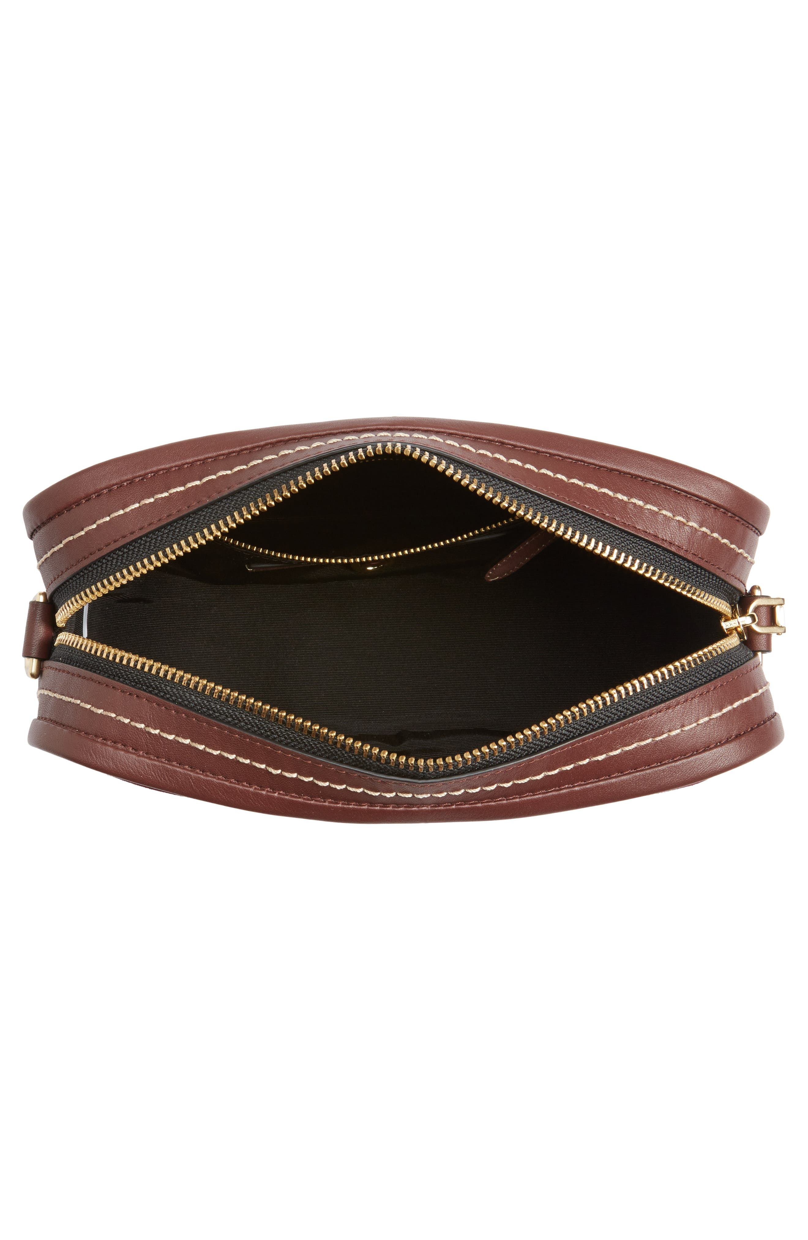 The Squeeze Suede & Leather Shoulder Bag,                             Alternate thumbnail 12, color,