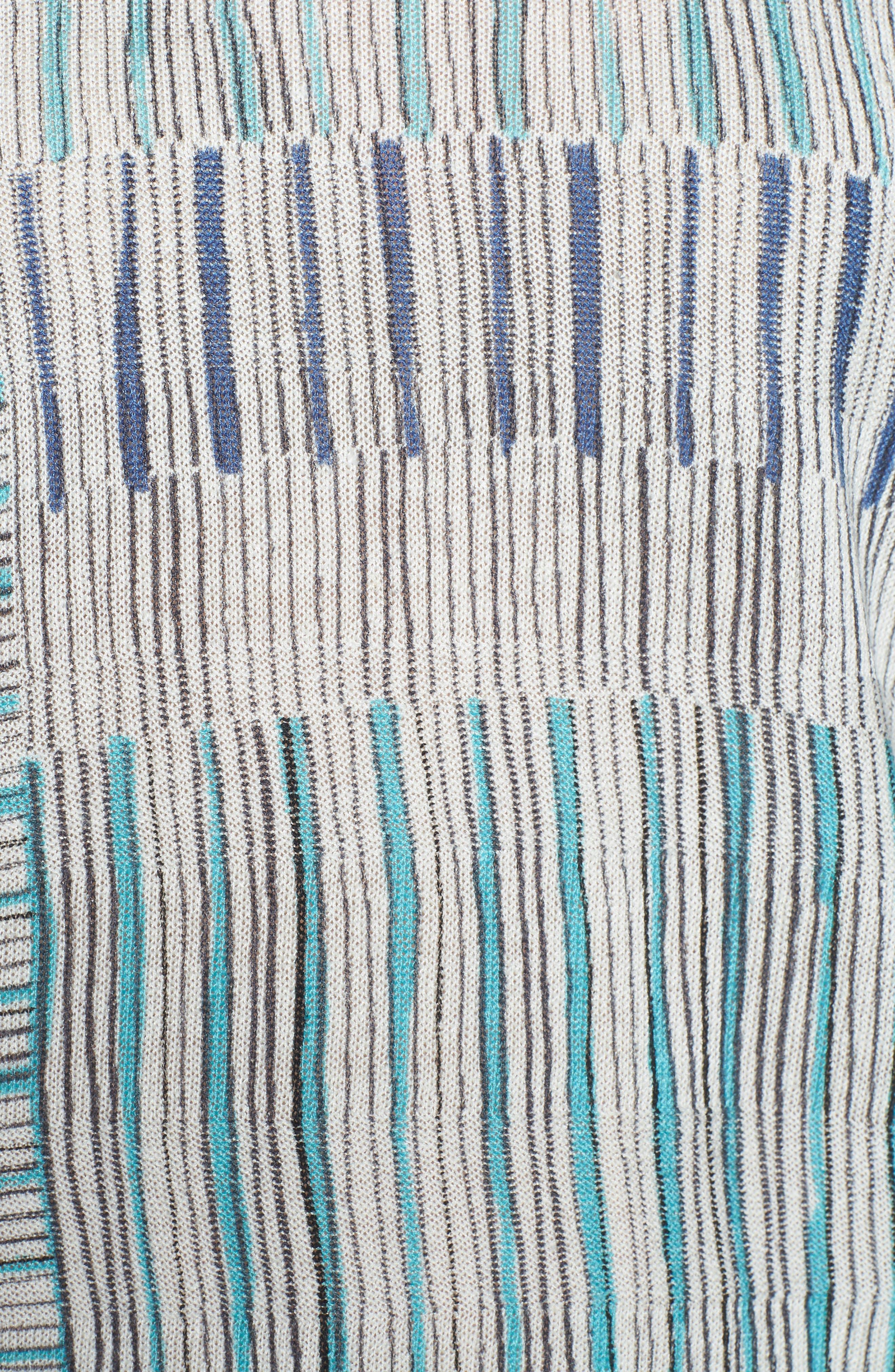 Sea Wall Stripe Top,                             Alternate thumbnail 5, color,                             MULTI