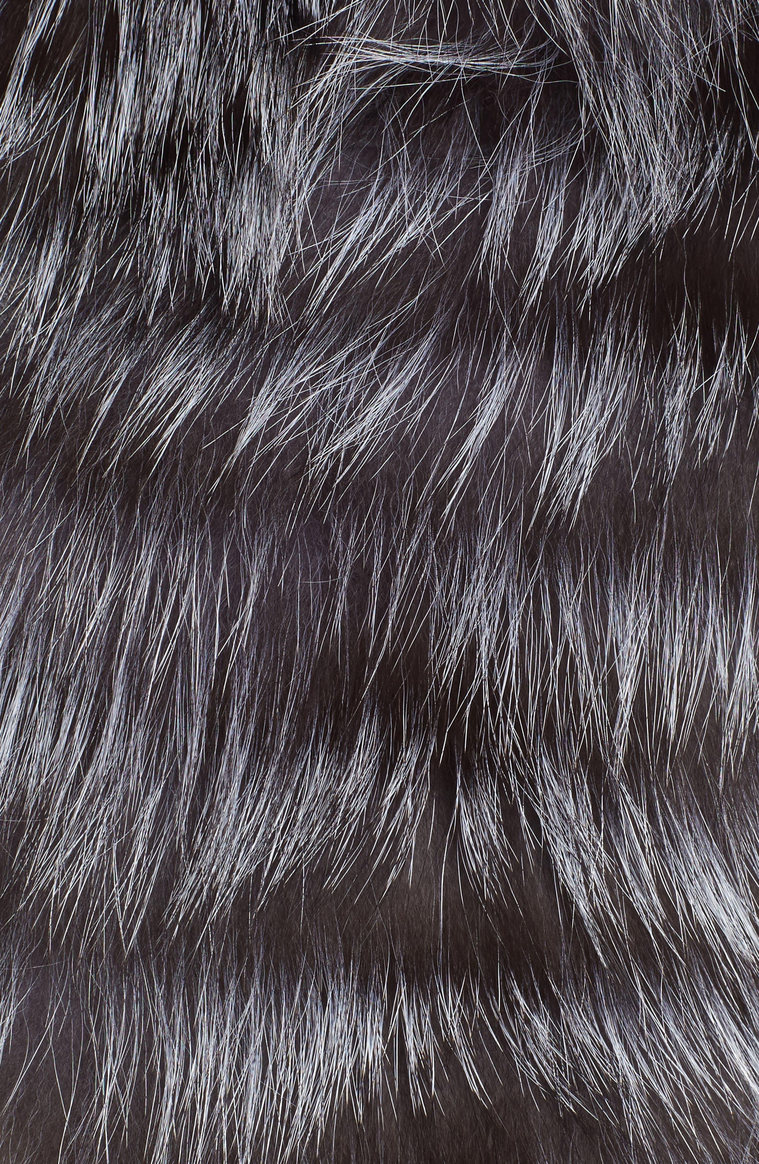 Genuine Fox Fur Vest,                             Alternate thumbnail 5, color,                             045