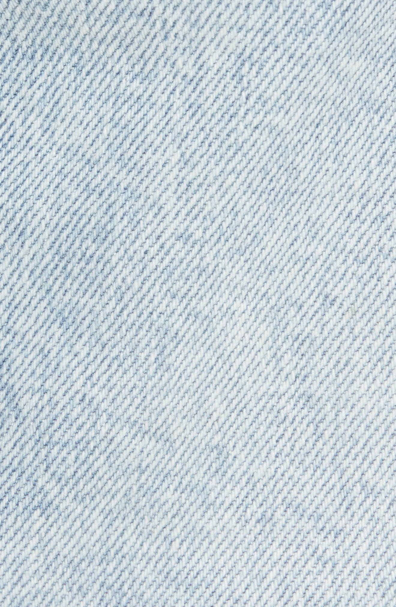 Vaughn Biker Skinny Fit Jeans,                             Alternate thumbnail 5, color,                             ECHO PARK