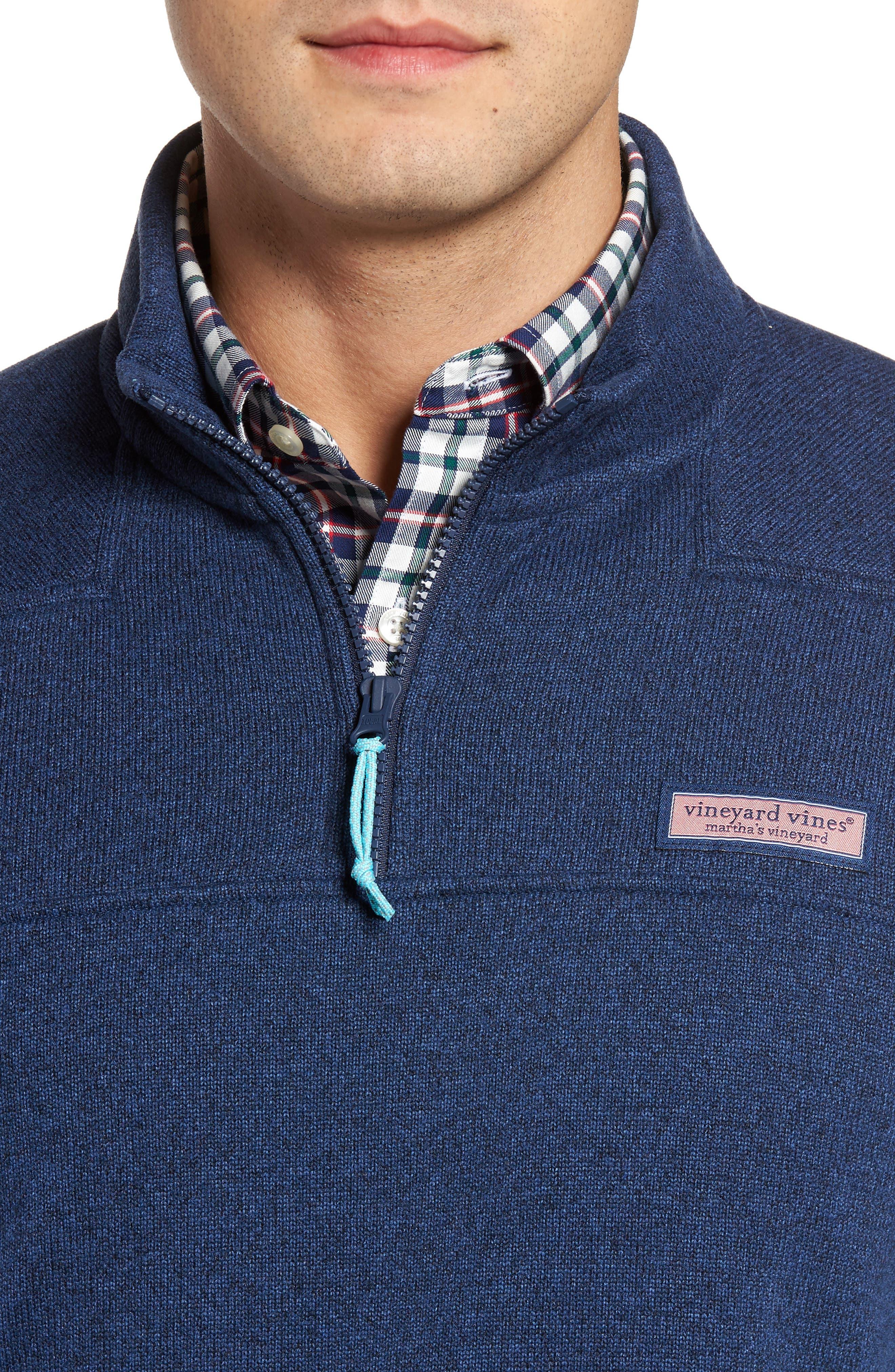Shep Sweater Fleece Quarter Zip Pullover,                             Alternate thumbnail 8, color,