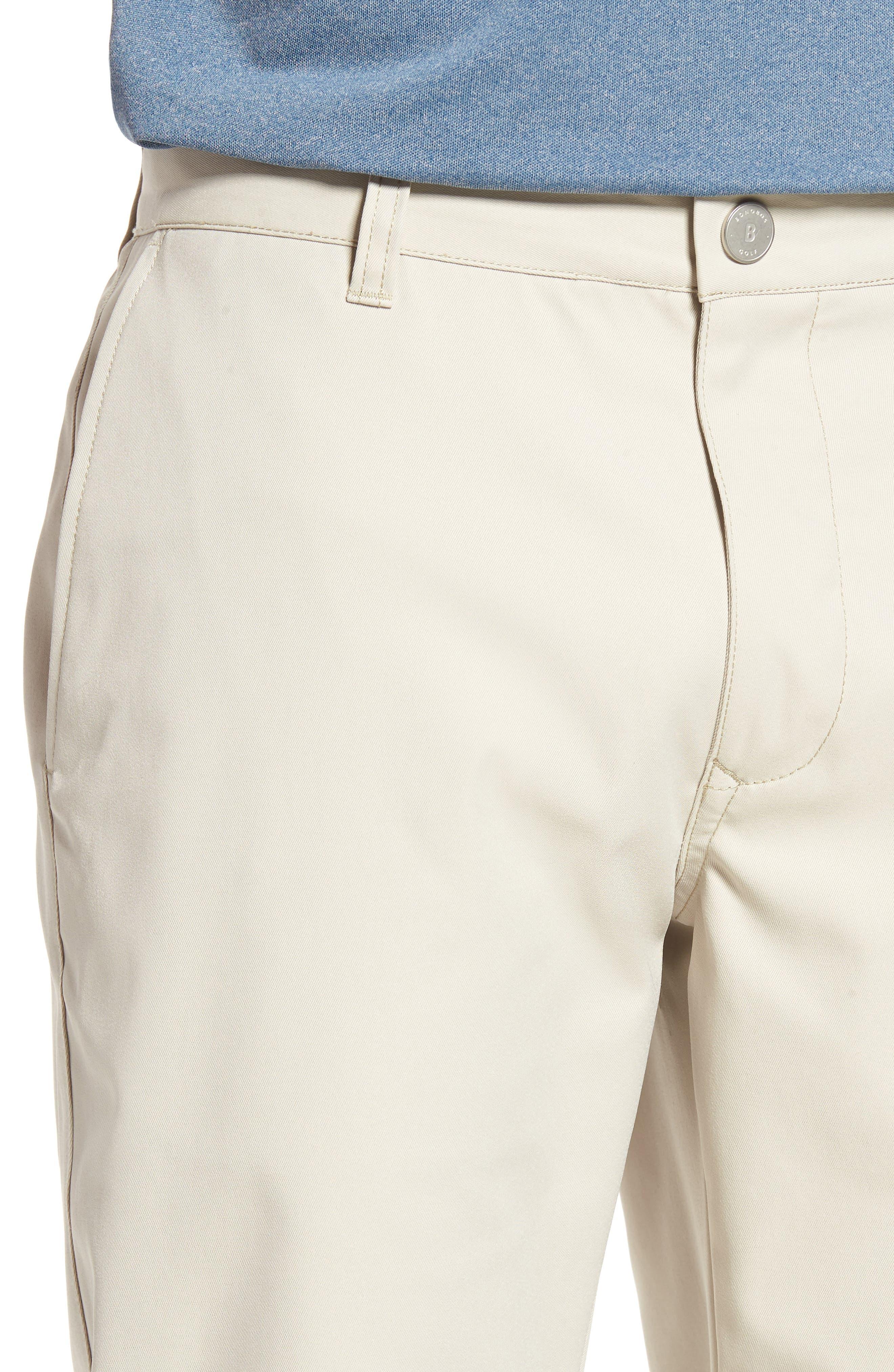 Highland Slim Fit Golf Pants,                             Alternate thumbnail 4, color,                             STONE