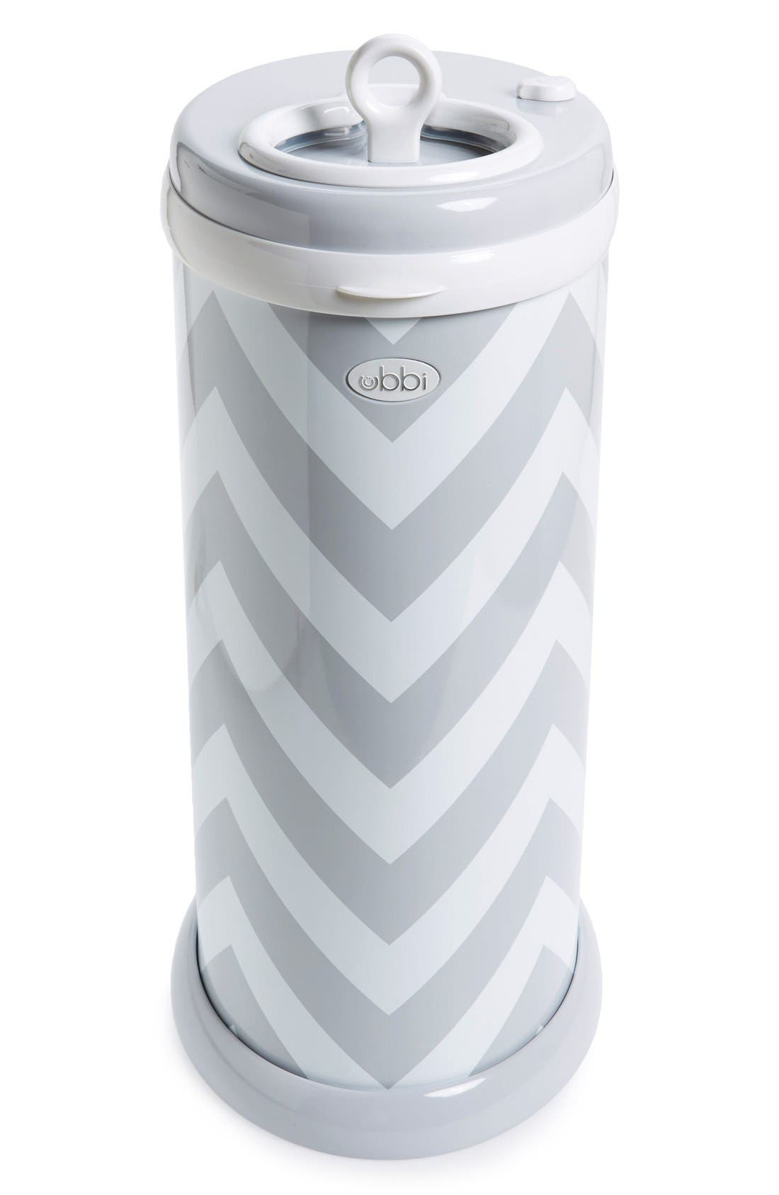 Diaper Pail,                             Alternate thumbnail 3, color,                             GRAY CHEVRON
