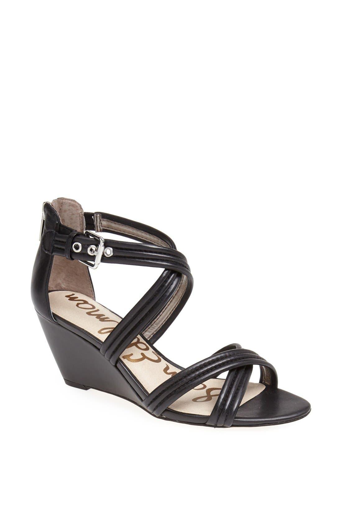 'Sloan' Sandal,                             Main thumbnail 1, color,                             001