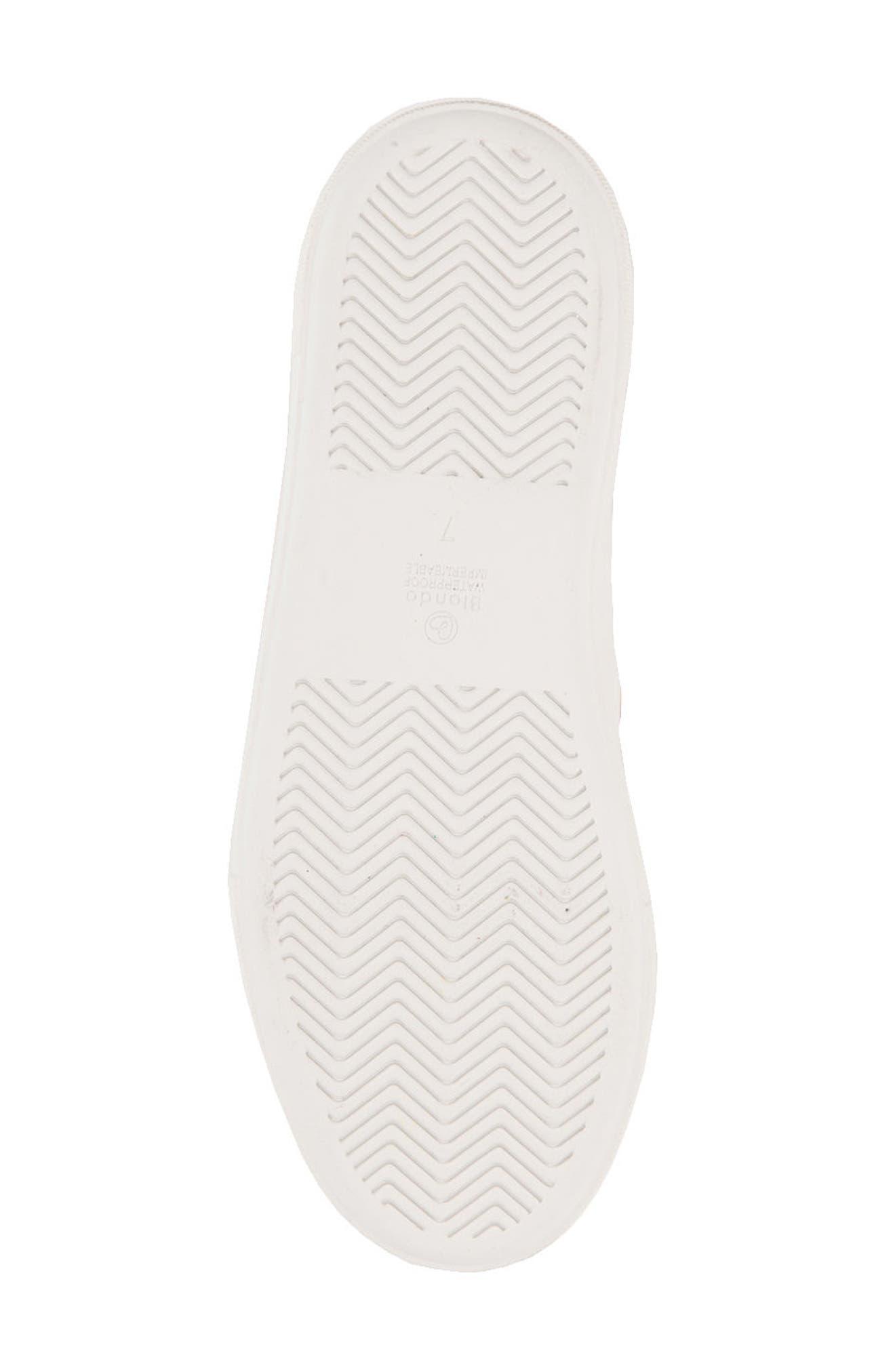 Glance Waterproof Sneaker,                             Alternate thumbnail 6, color,                             LIGHT PINK SUEDE