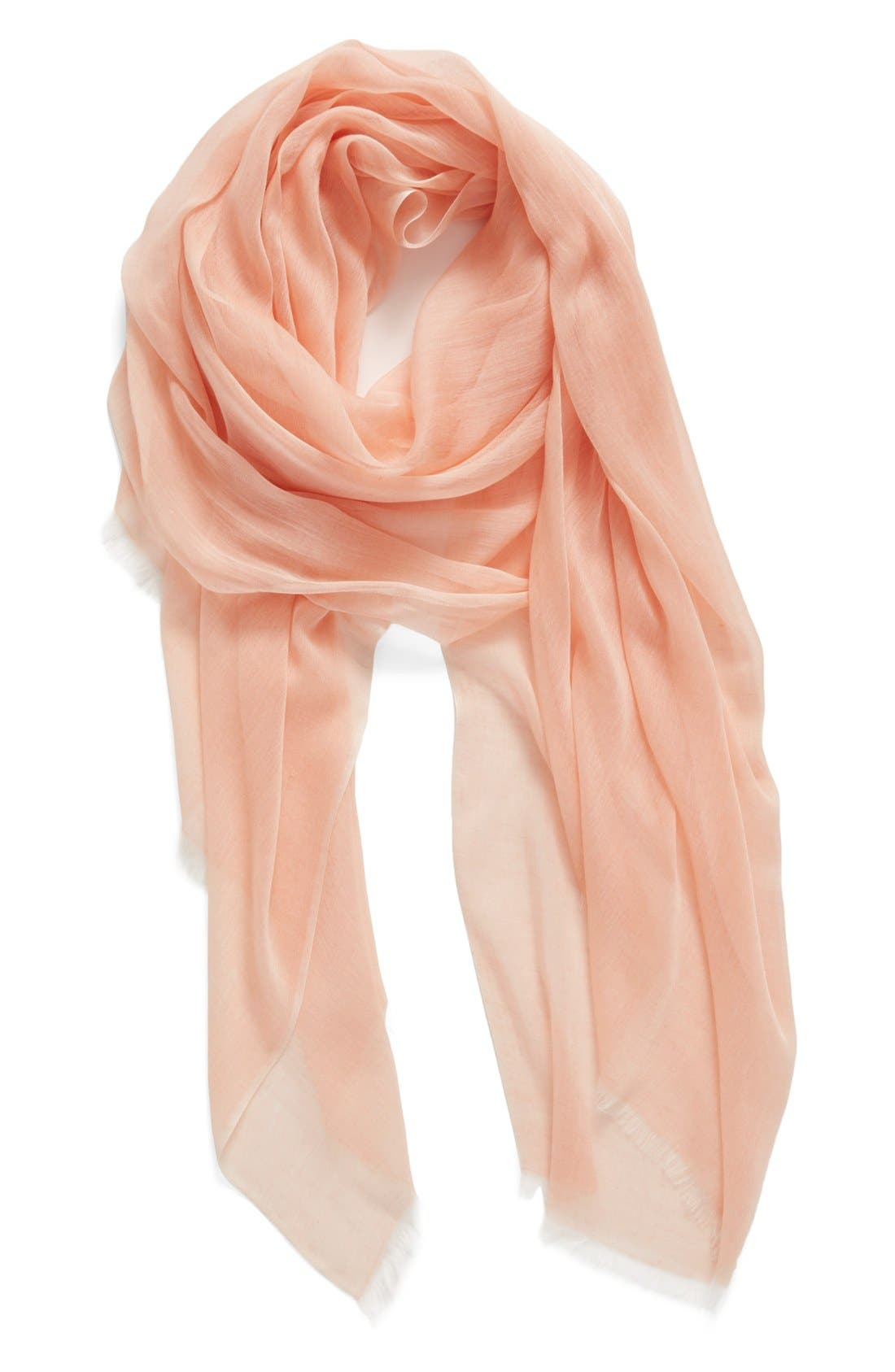 Modal Silk Blend Scarf,                             Main thumbnail 39, color,