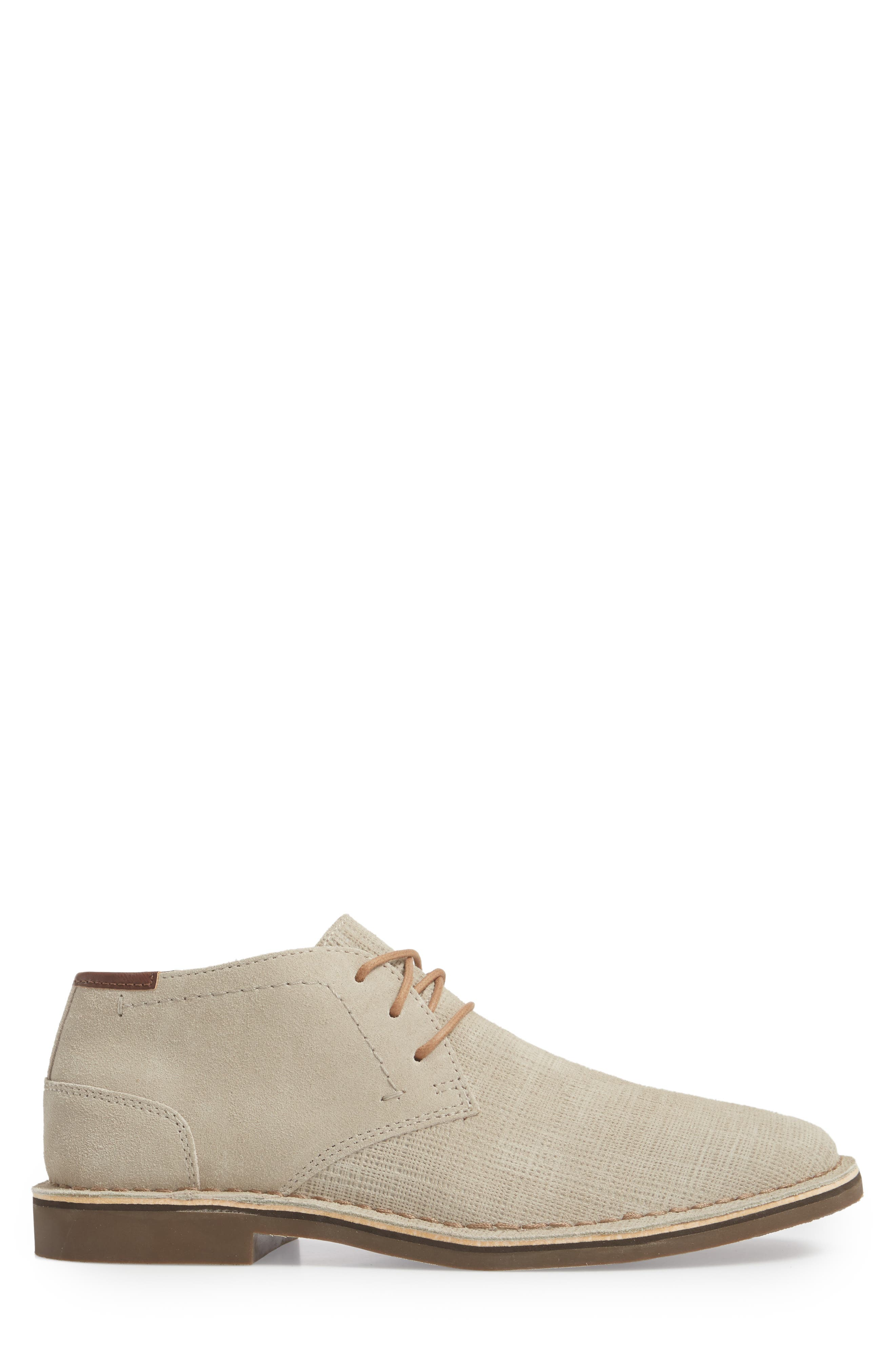 Desert Sun Textured Chukka Boot,                             Alternate thumbnail 6, color,
