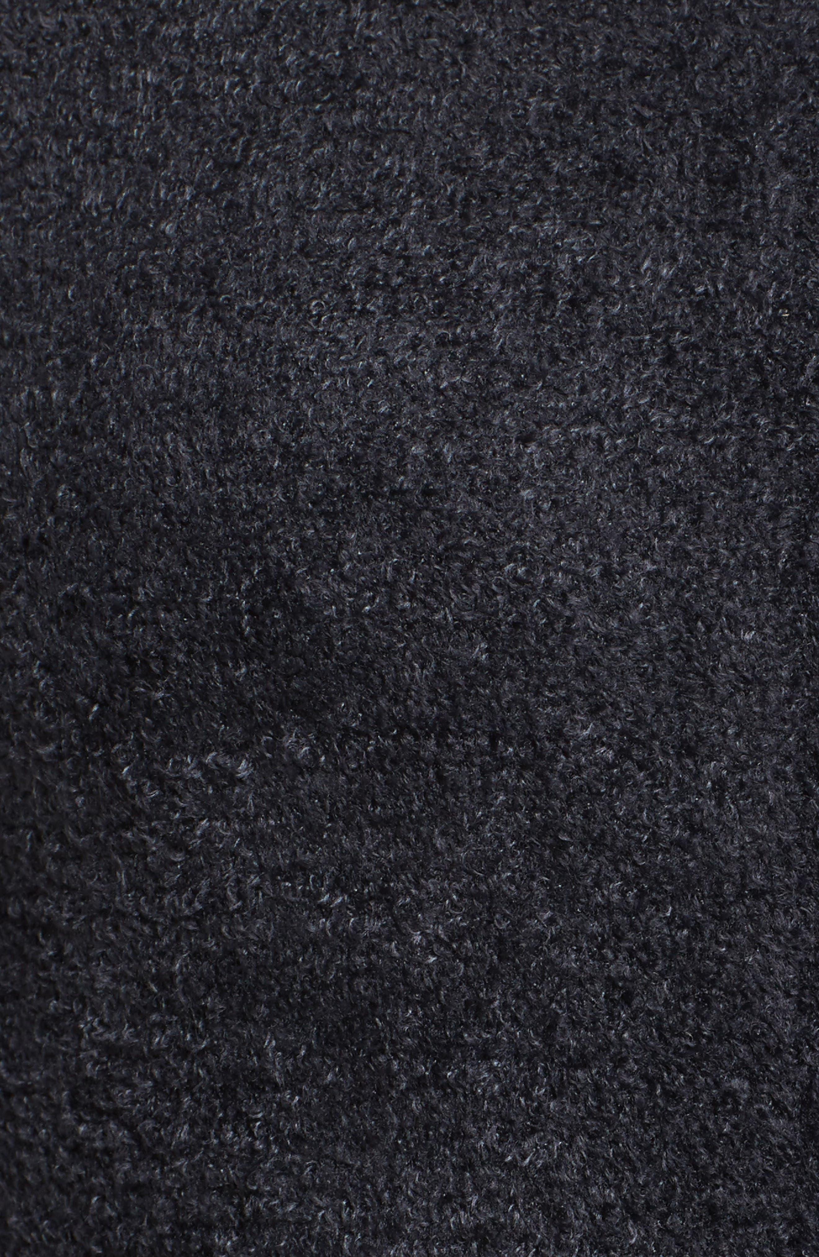 Cozychic Lite<sup>®</sup> Lounge Hoodie,                             Alternate thumbnail 5, color,                             BLACK