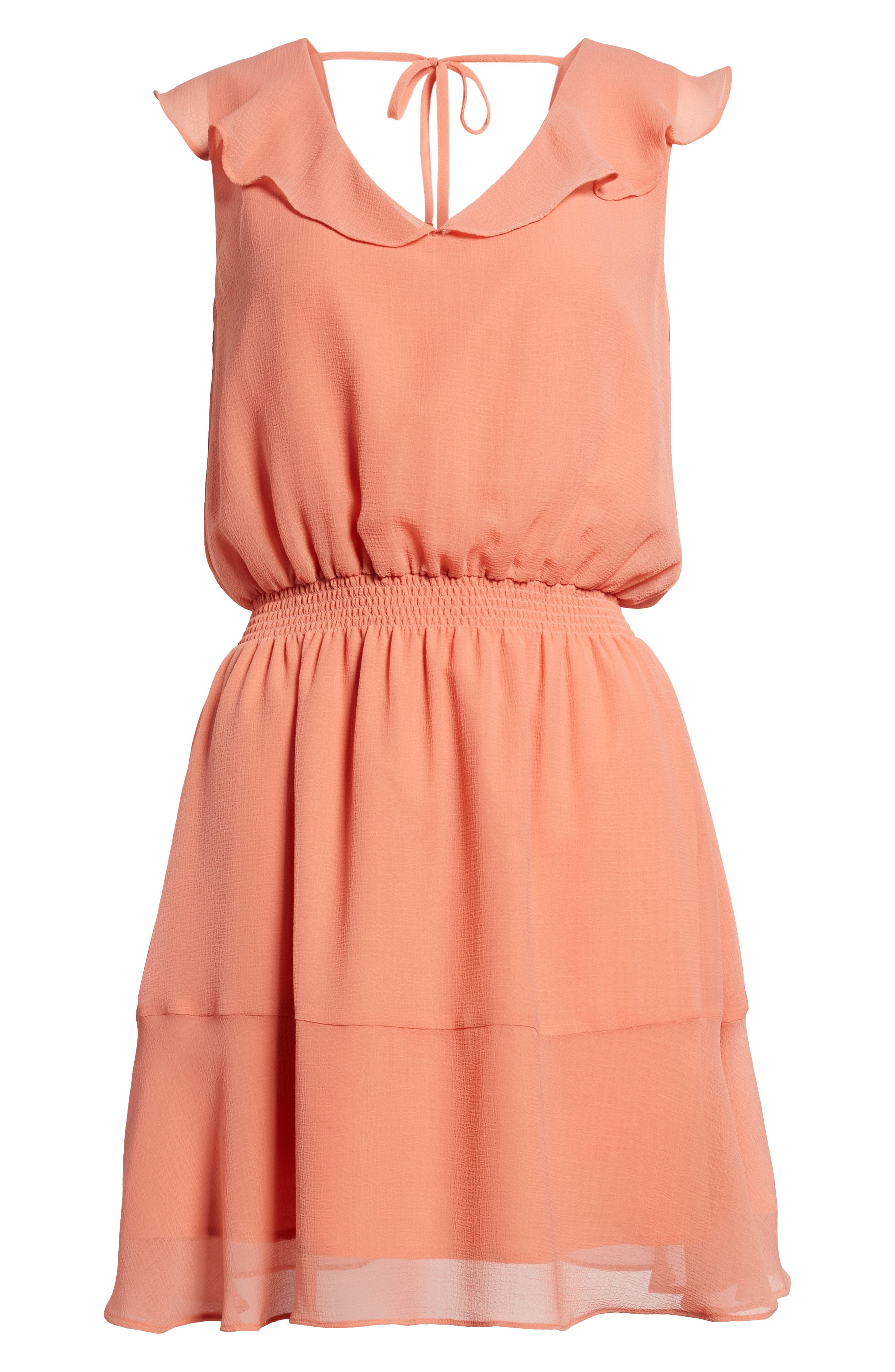 Iniko Blouson Dress,                             Alternate thumbnail 6, color,                             950