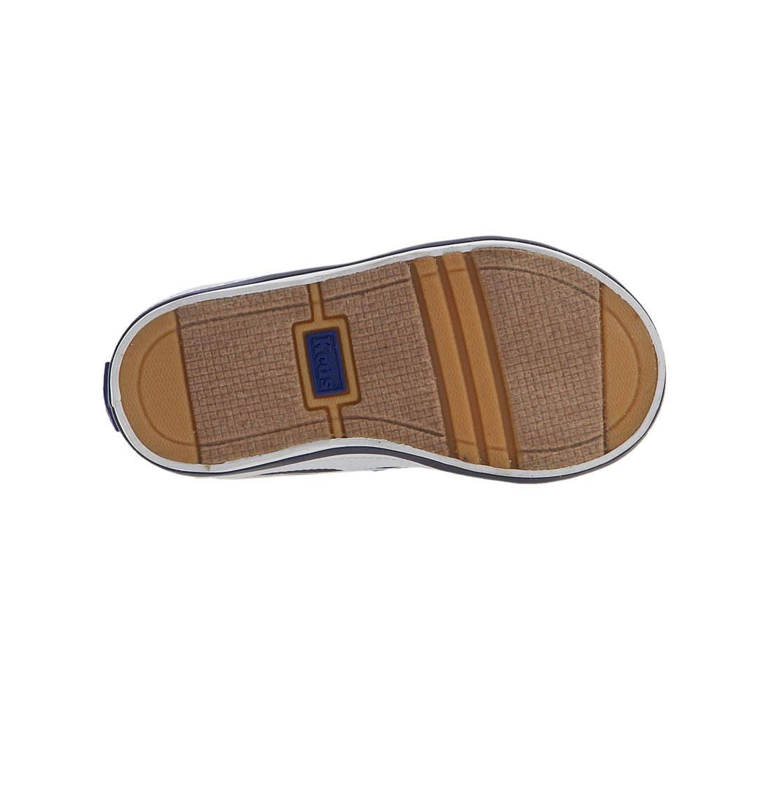 'Graham' Lace-Up Sneaker,                             Alternate thumbnail 3, color,                             NAVY CANVAS