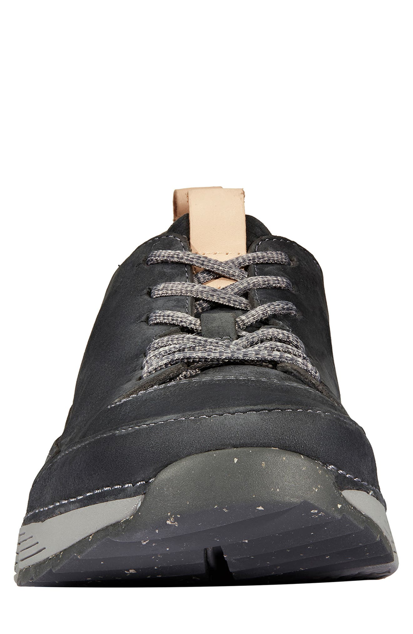 Tri Active Run Sneaker,                             Alternate thumbnail 3, color,                             GREY LEATHER