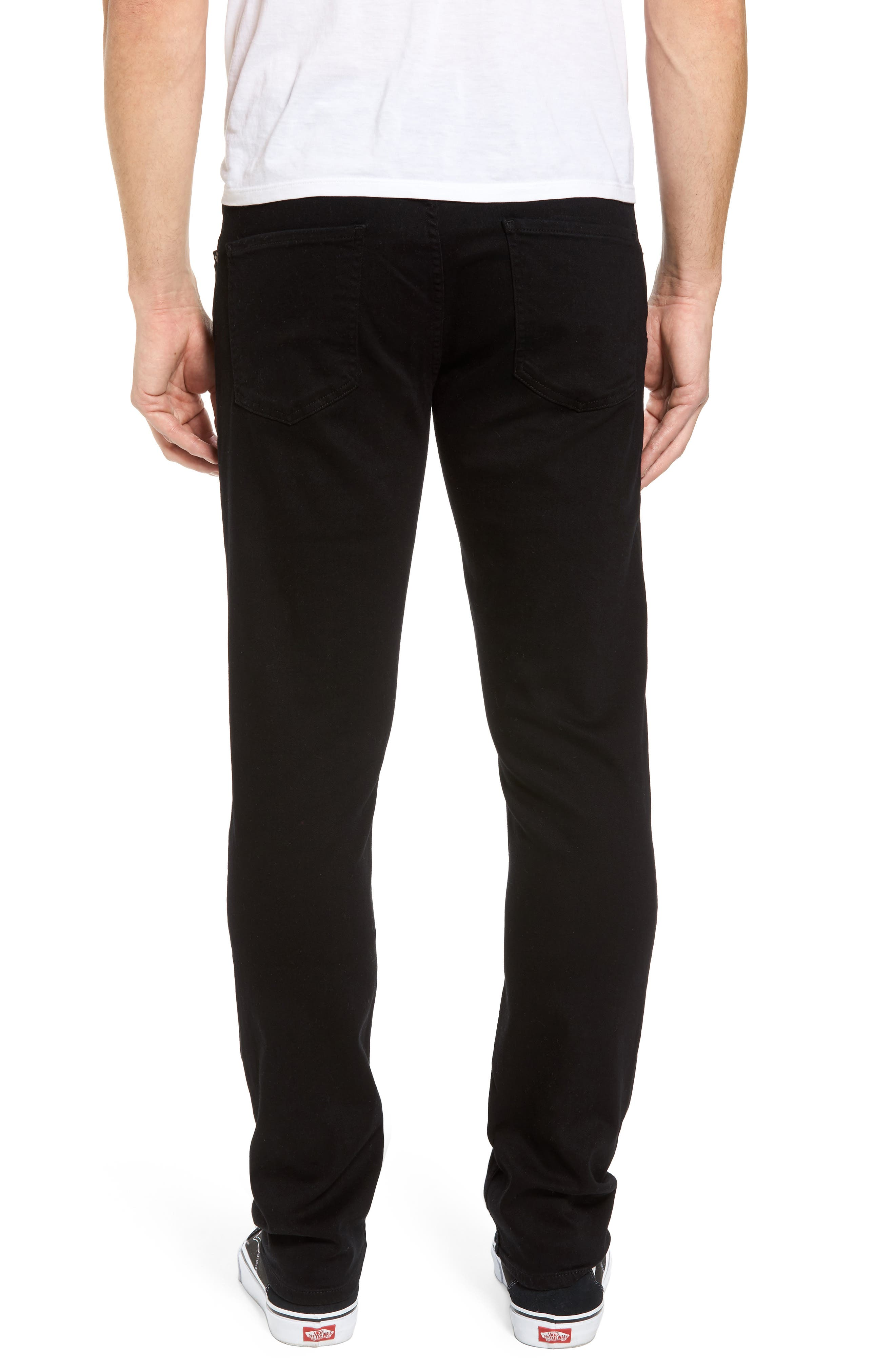 Bowery Slim Fit Jeans,                             Alternate thumbnail 2, color,                             007
