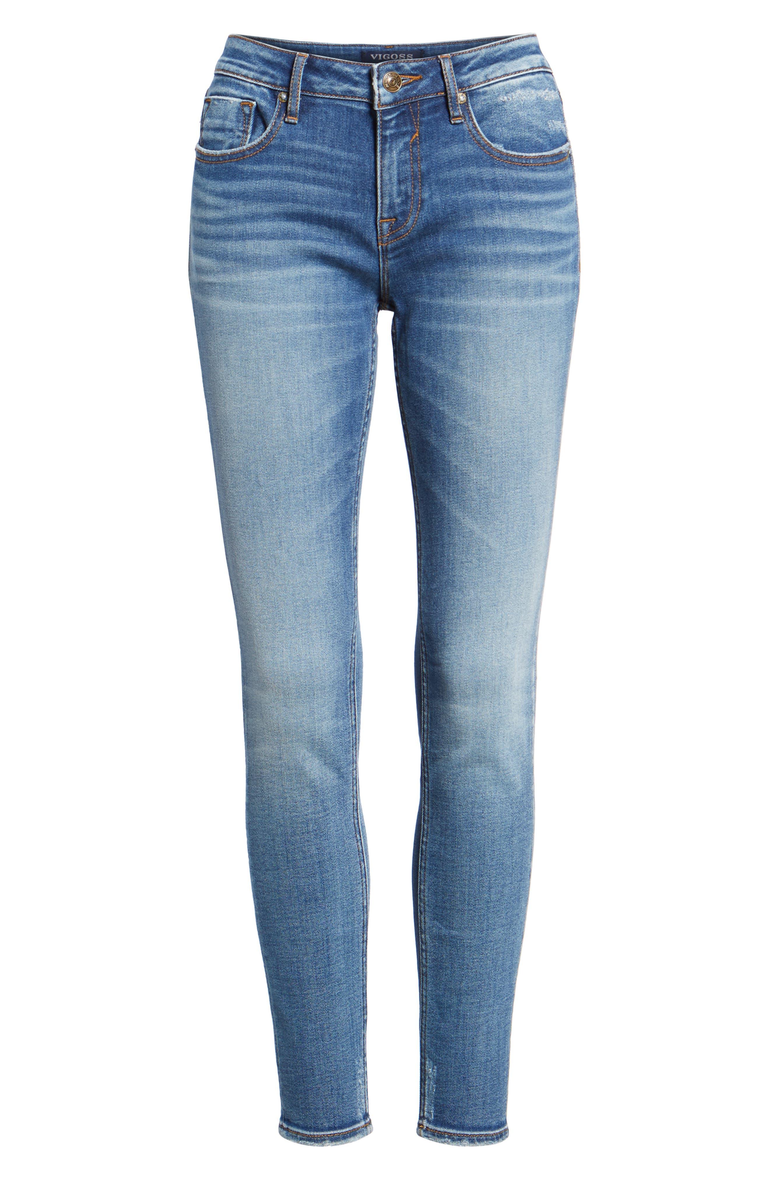 VIGOSS,                             Jagger Skinny Jeans,                             Alternate thumbnail 7, color,                             426