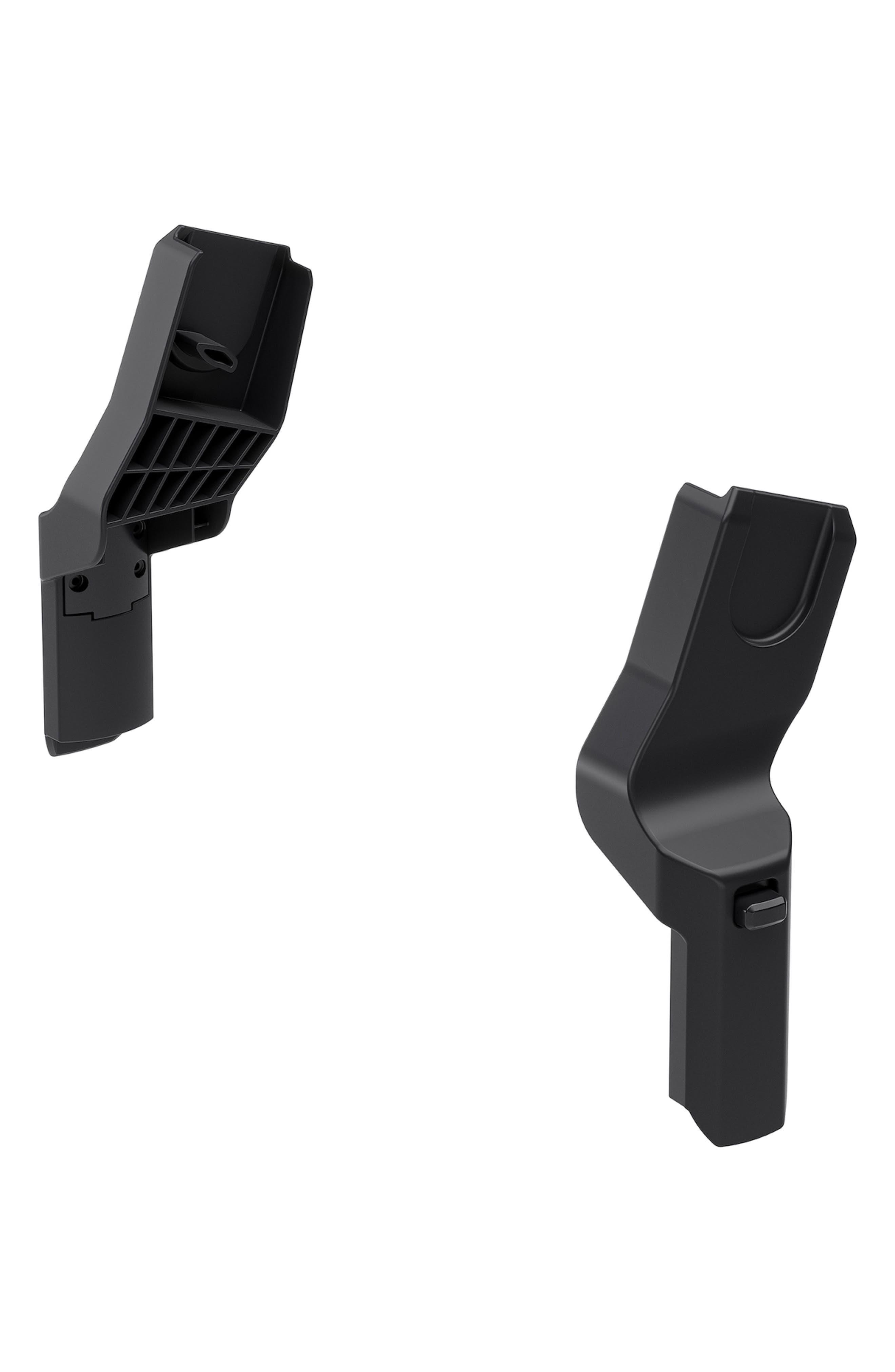 Sleek Stroller to Maxi-Cosi<sup>®</sup>/nuna/CYBEX/BeSafe<sup>®</sup> Infant Car Seat Adapter Set,                         Main,                         color, BLACK