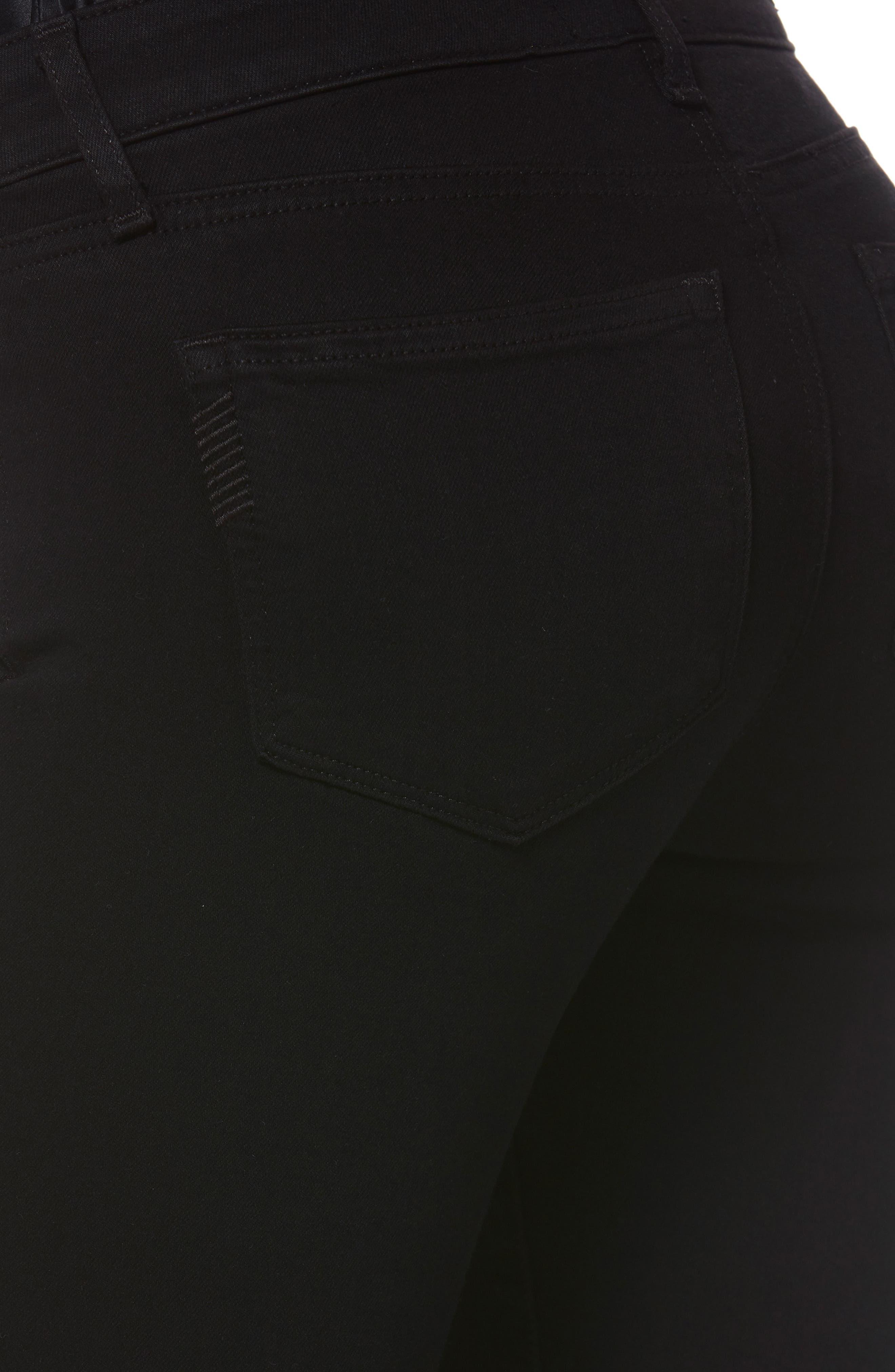 Transcend - Skyline Skinny Jeans,                             Alternate thumbnail 7, color,                             BLACK SHADOW