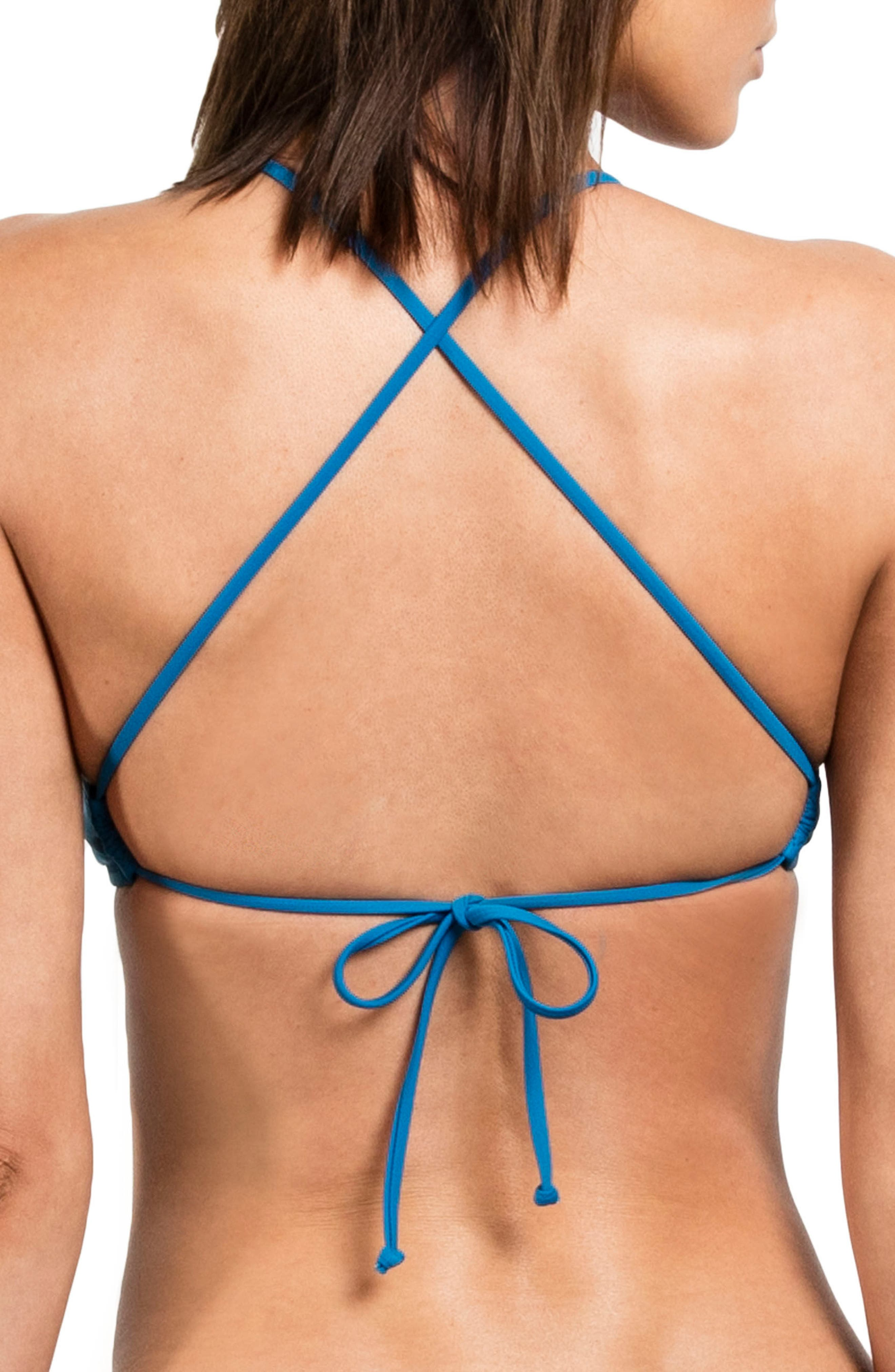 Crop Bikini Top,                             Alternate thumbnail 5, color,