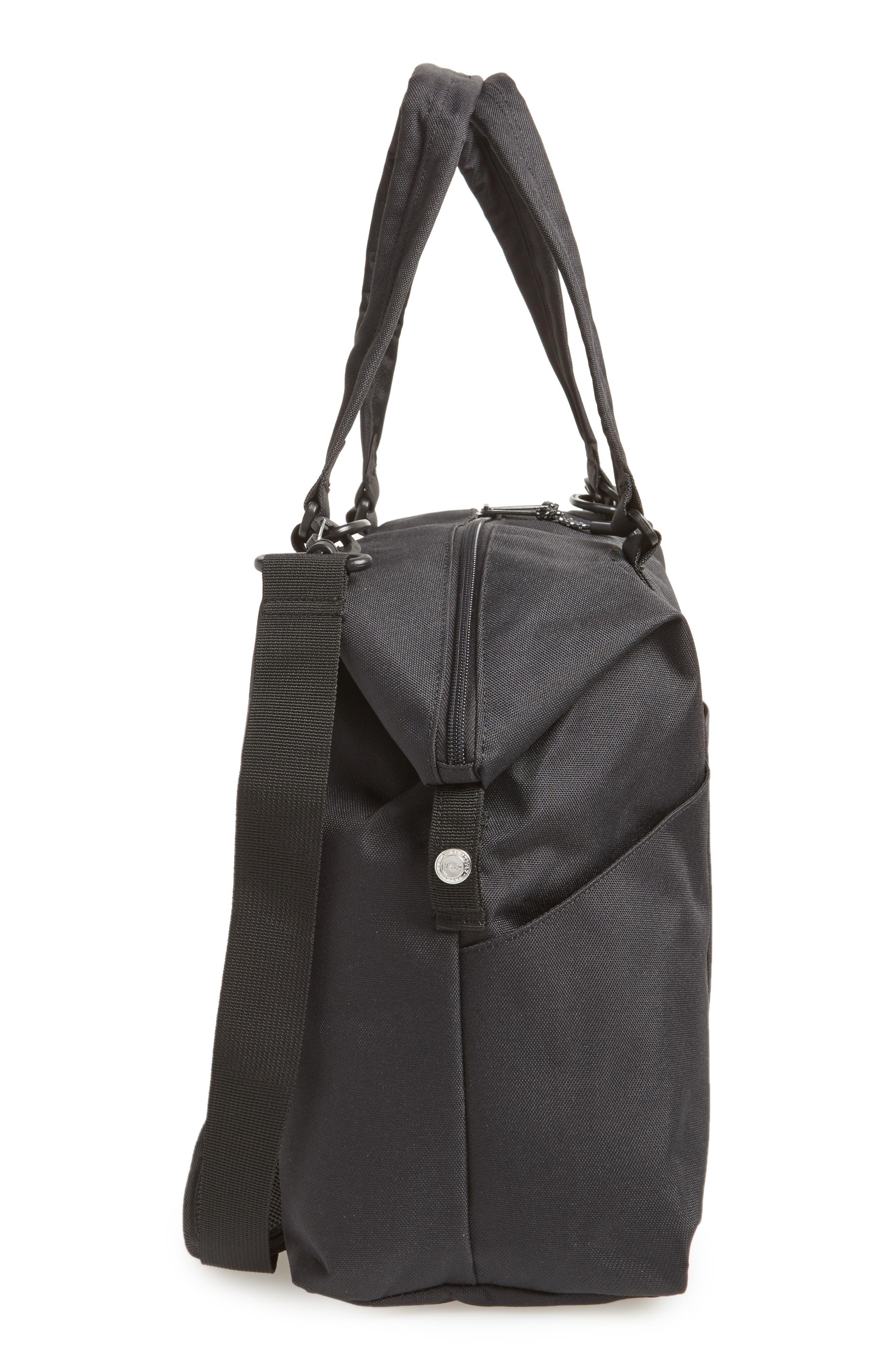 Sprout Diaper Bag,                             Alternate thumbnail 5, color,                             BLACK