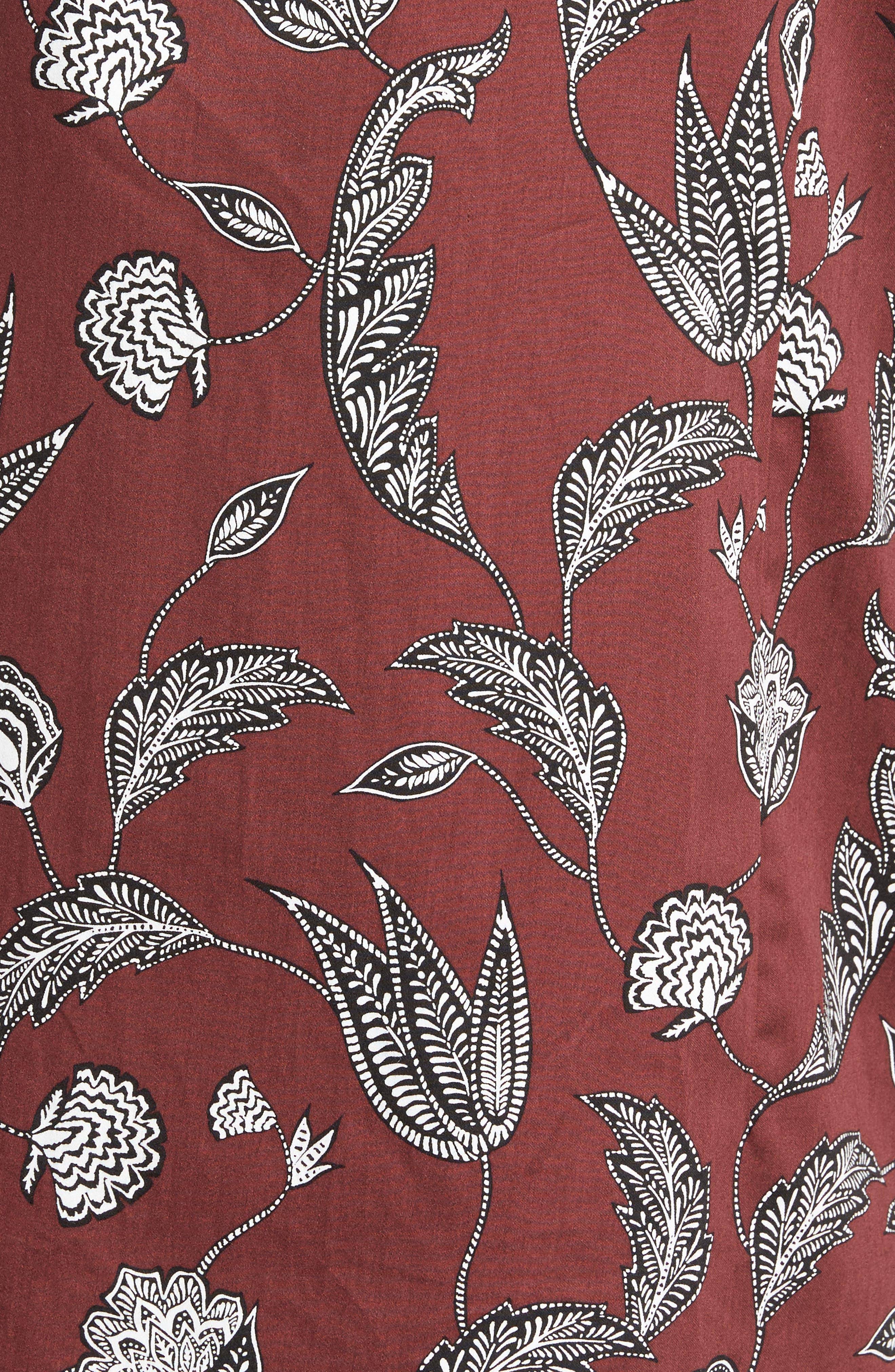 UTKU Floral Sport Shirt,                             Alternate thumbnail 10, color,