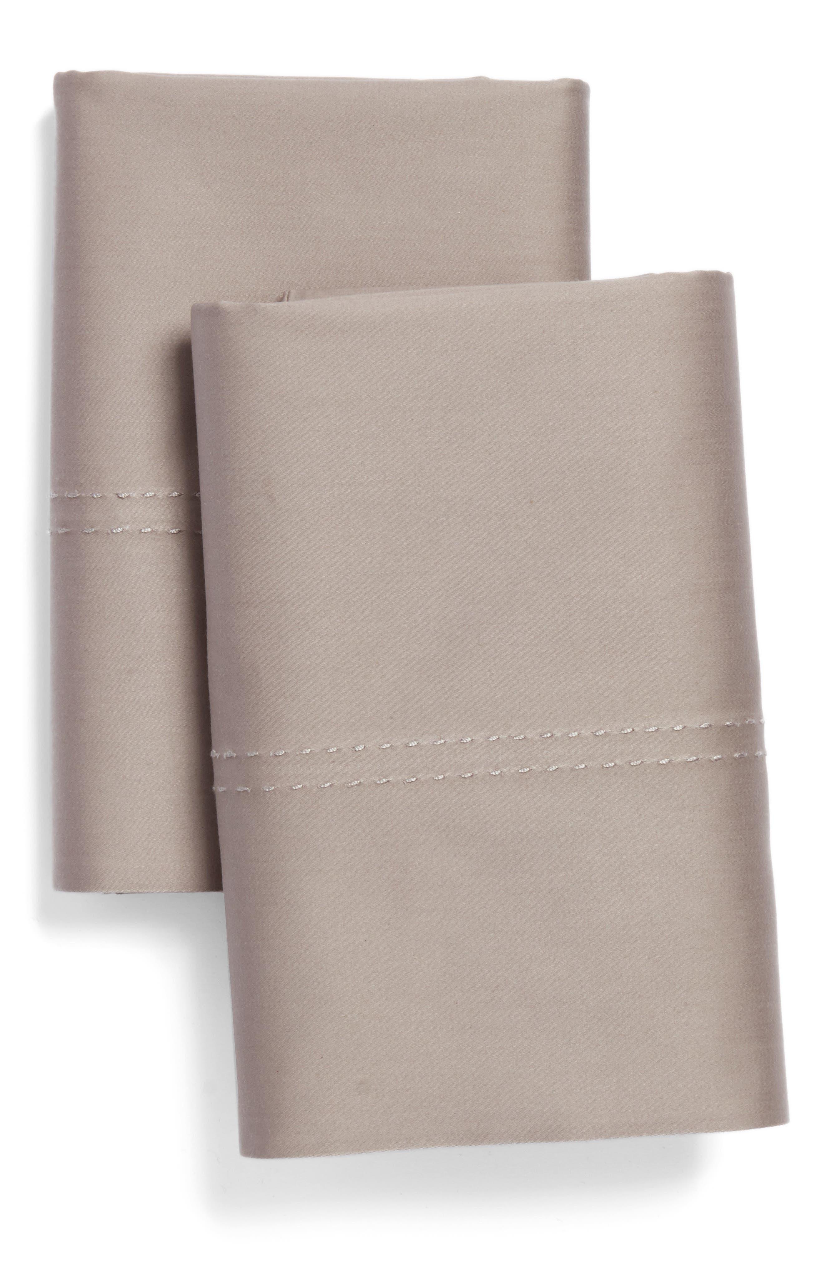 400 Thread Count Organic Cotton Pillowcases,                             Main thumbnail 4, color,