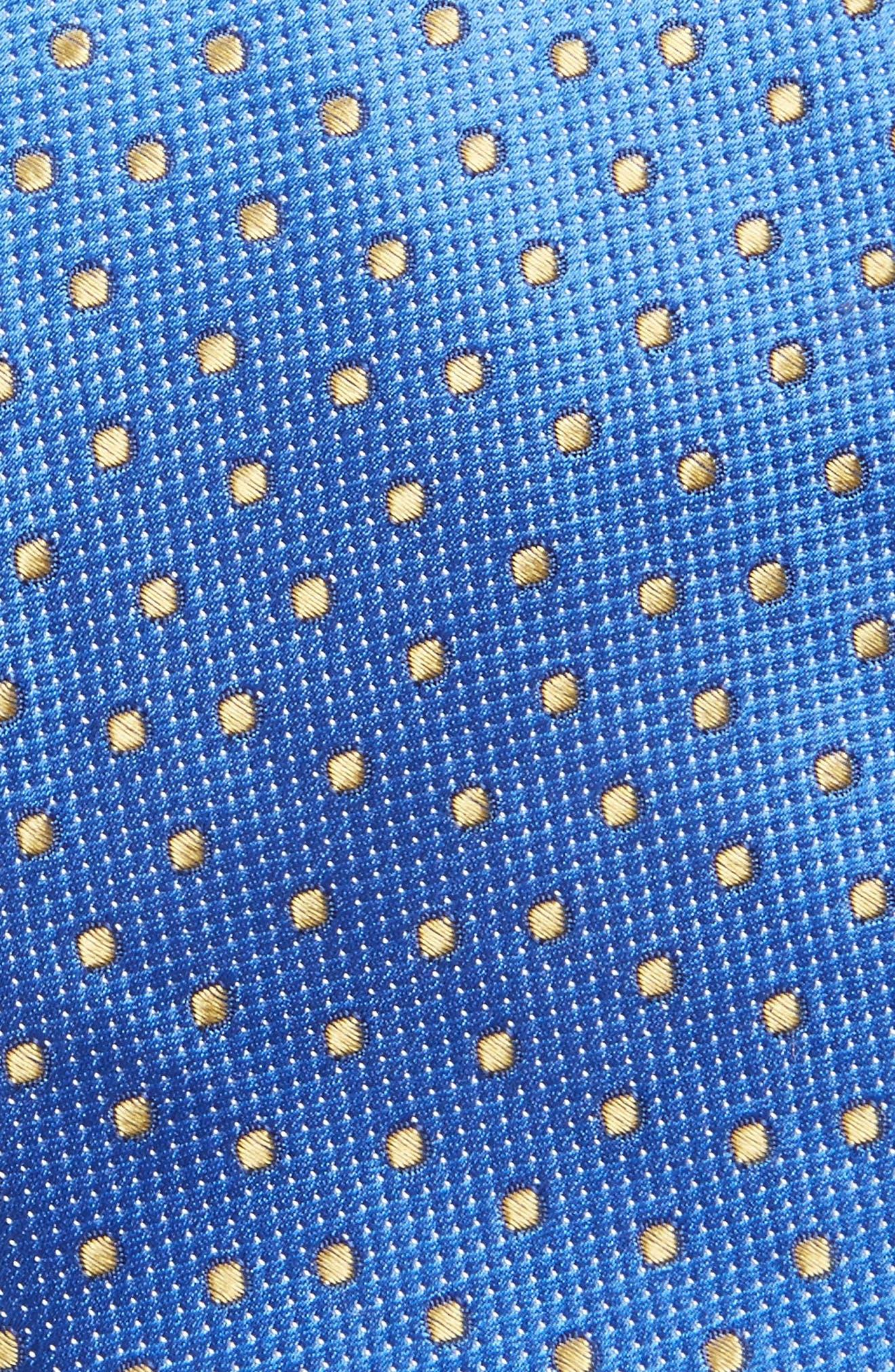 Double Dot Silk Tie,                             Alternate thumbnail 13, color,