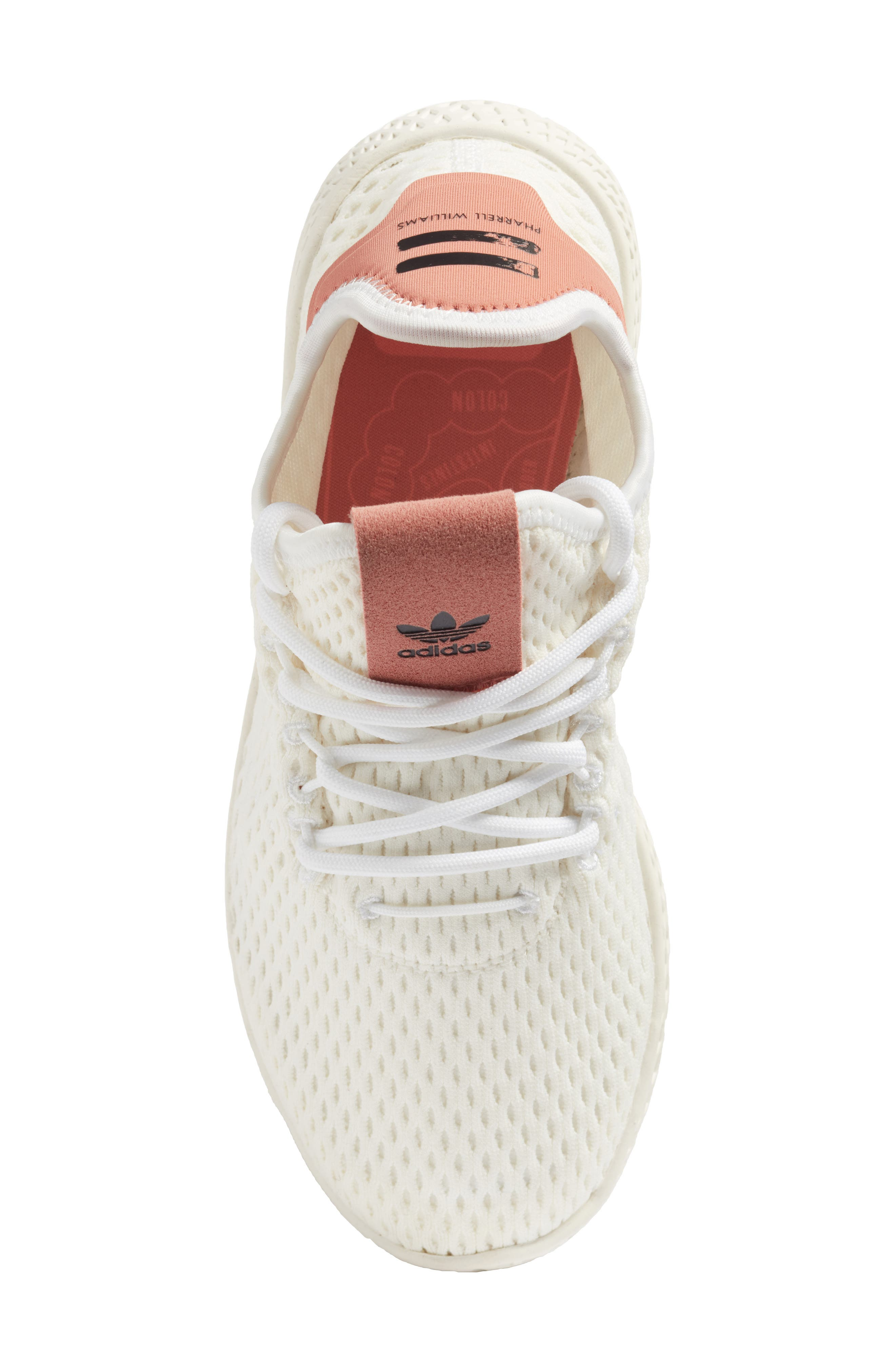 Originals x Pharrell Williams The Summers Mesh Sneaker,                             Alternate thumbnail 5, color,                             100