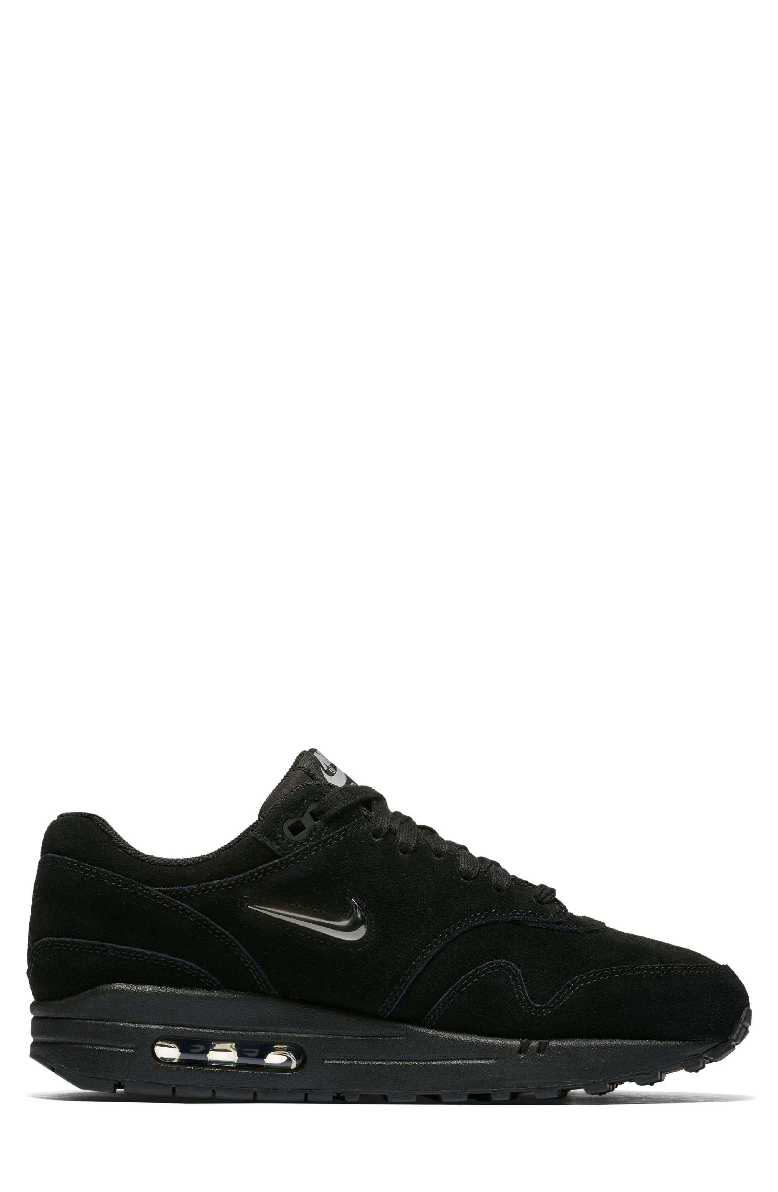 Air Max 1 Premium SC Sneaker,                             Alternate thumbnail 3, color,                             001