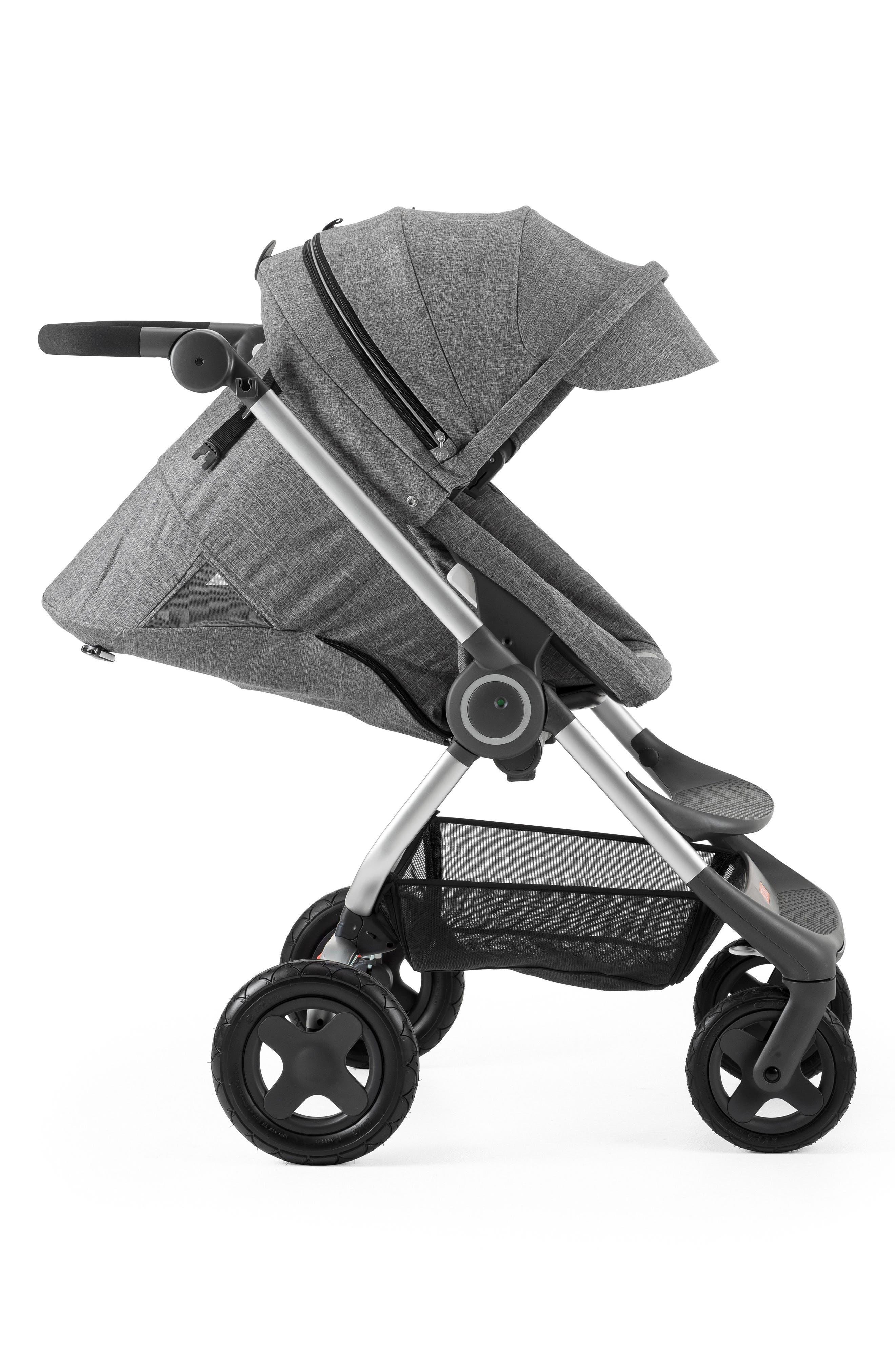 Scoot<sup>™</sup> Complete Stroller,                             Alternate thumbnail 3, color,                             BLACK MELANGE