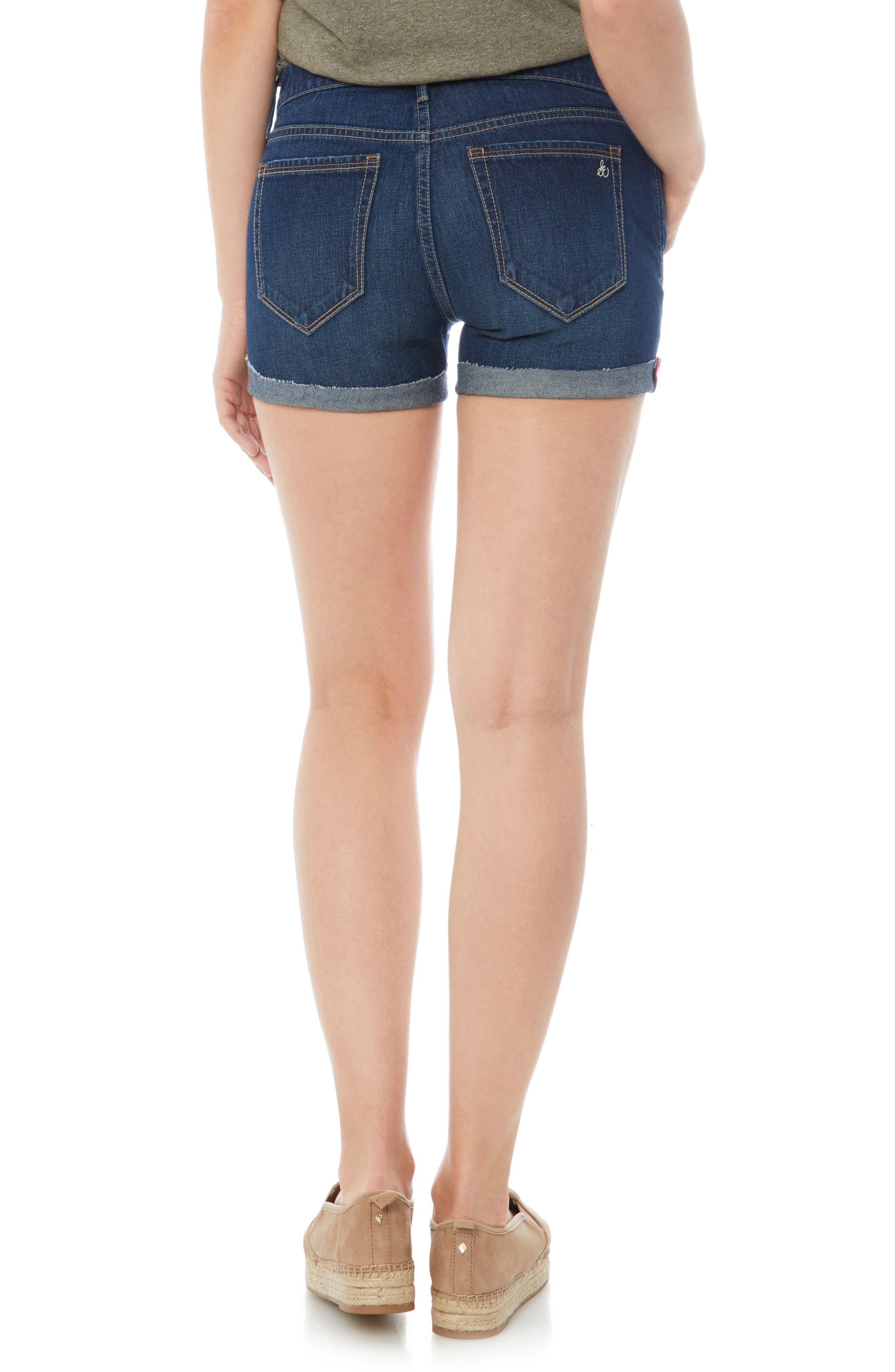 The Drew Jean Shorts,                             Alternate thumbnail 2, color,