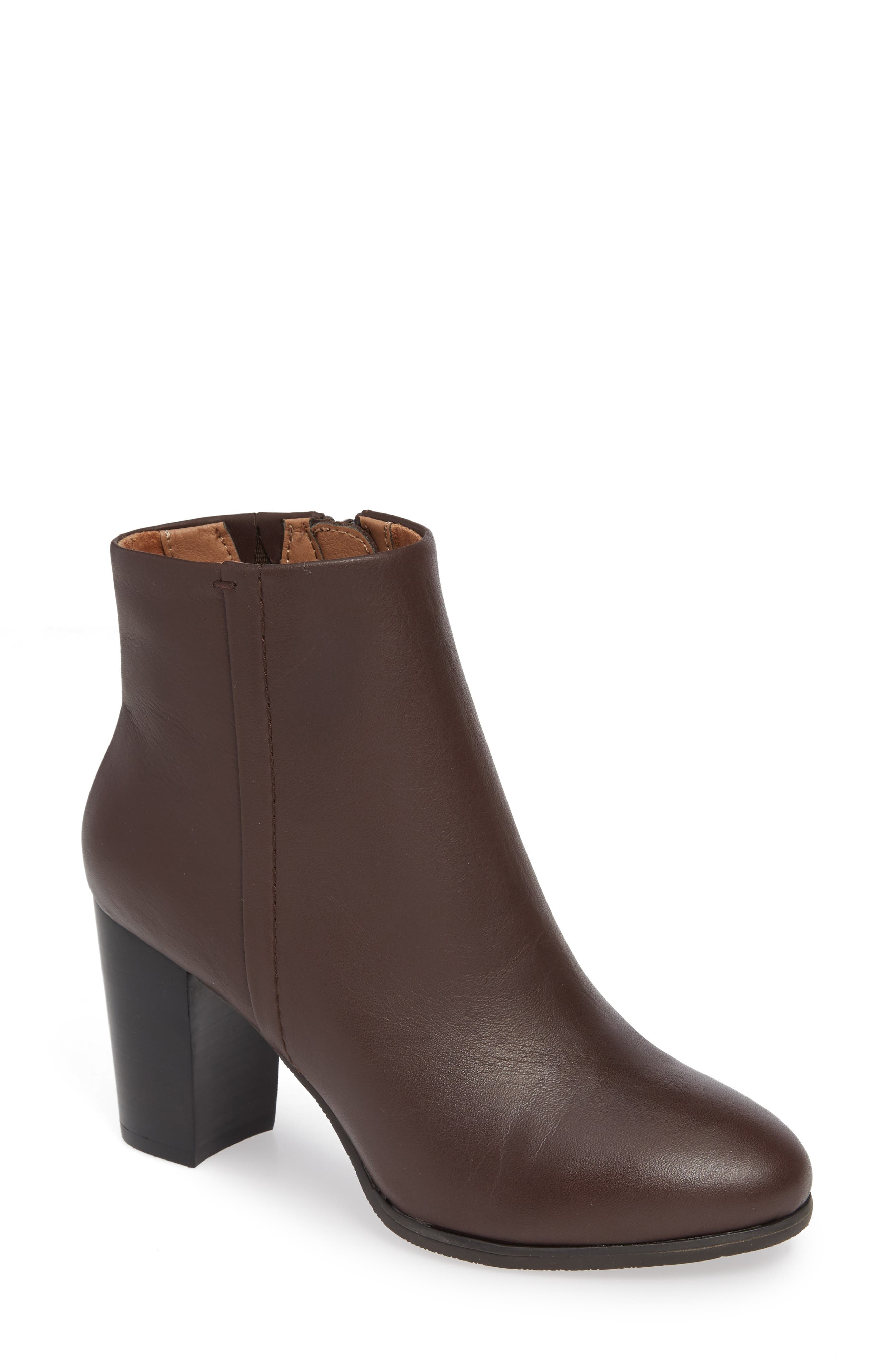 Vionic Kennedy Ankle Bootie, Brown