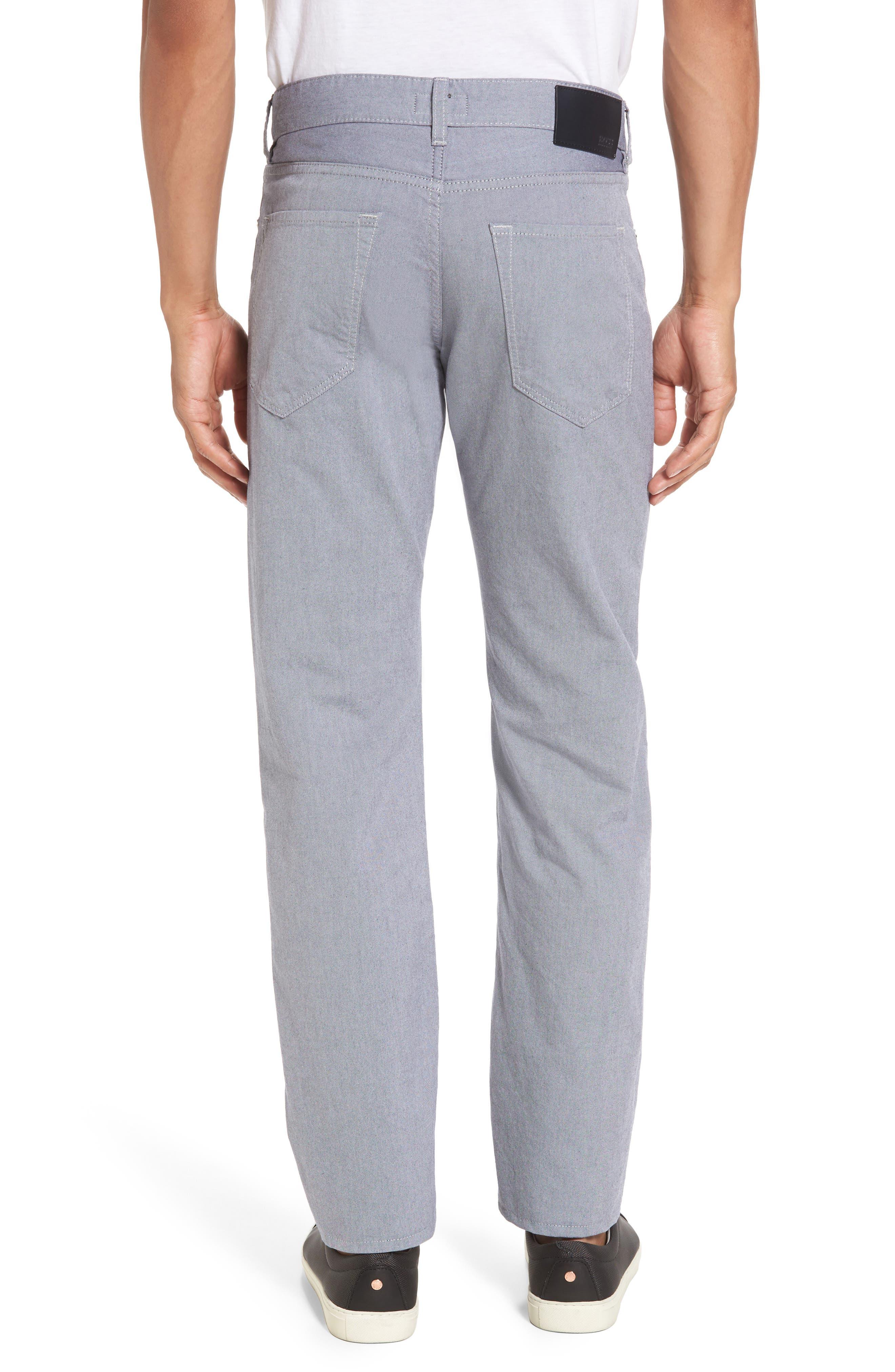 Slim Fit Twill Pants,                             Alternate thumbnail 2, color,