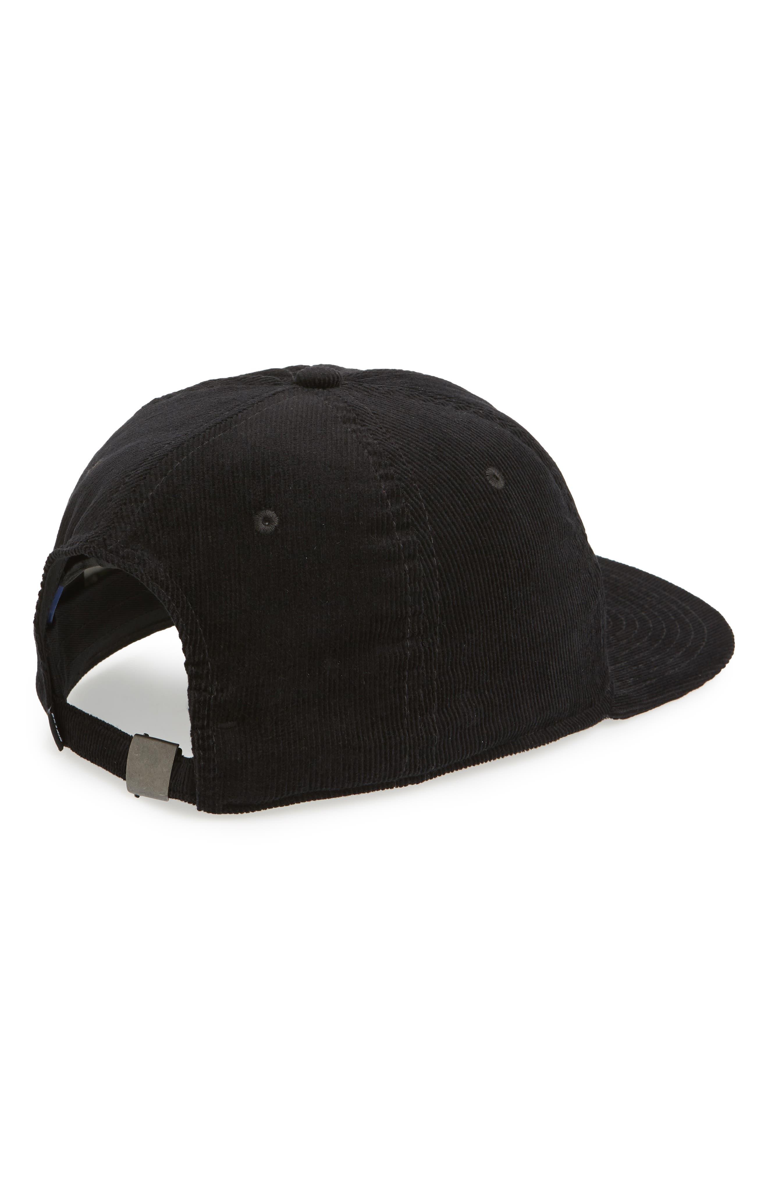 NIKE SB,                             H86 Flatbill Baseball Cap,                             Alternate thumbnail 2, color,                             BLACK/ BLACK