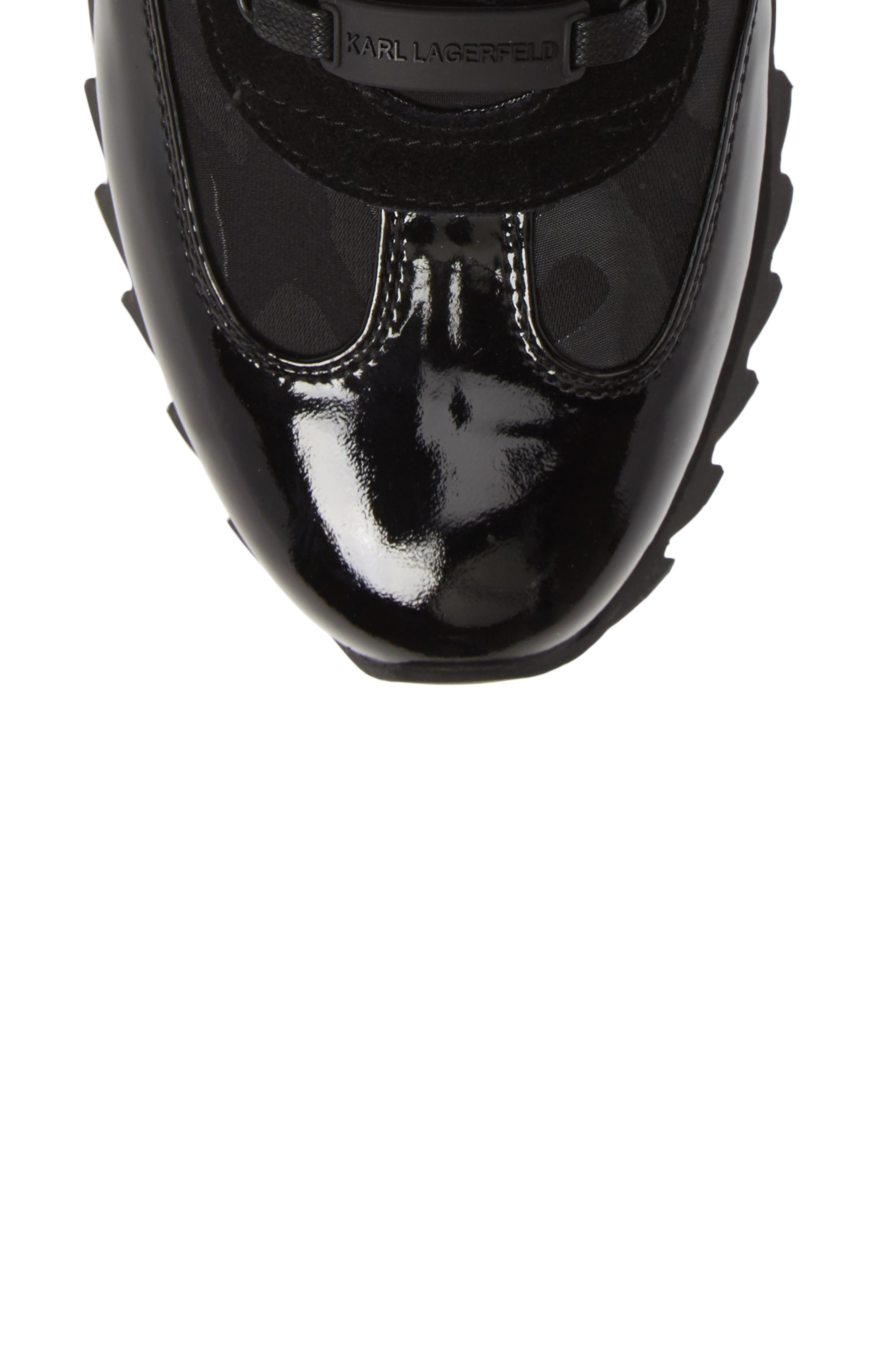 Camo Print Sneaker,                             Alternate thumbnail 5, color,                             001