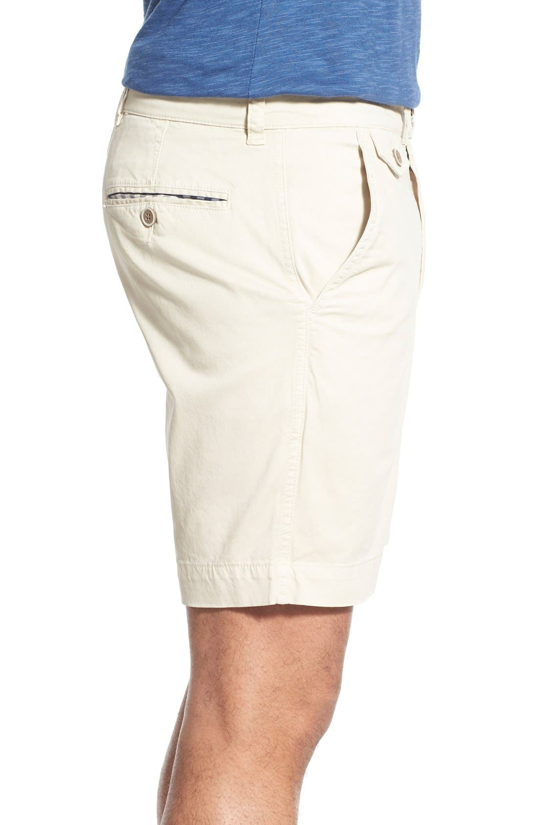 'Sunny' Stretch Twill Chino Shorts,                             Alternate thumbnail 11, color,