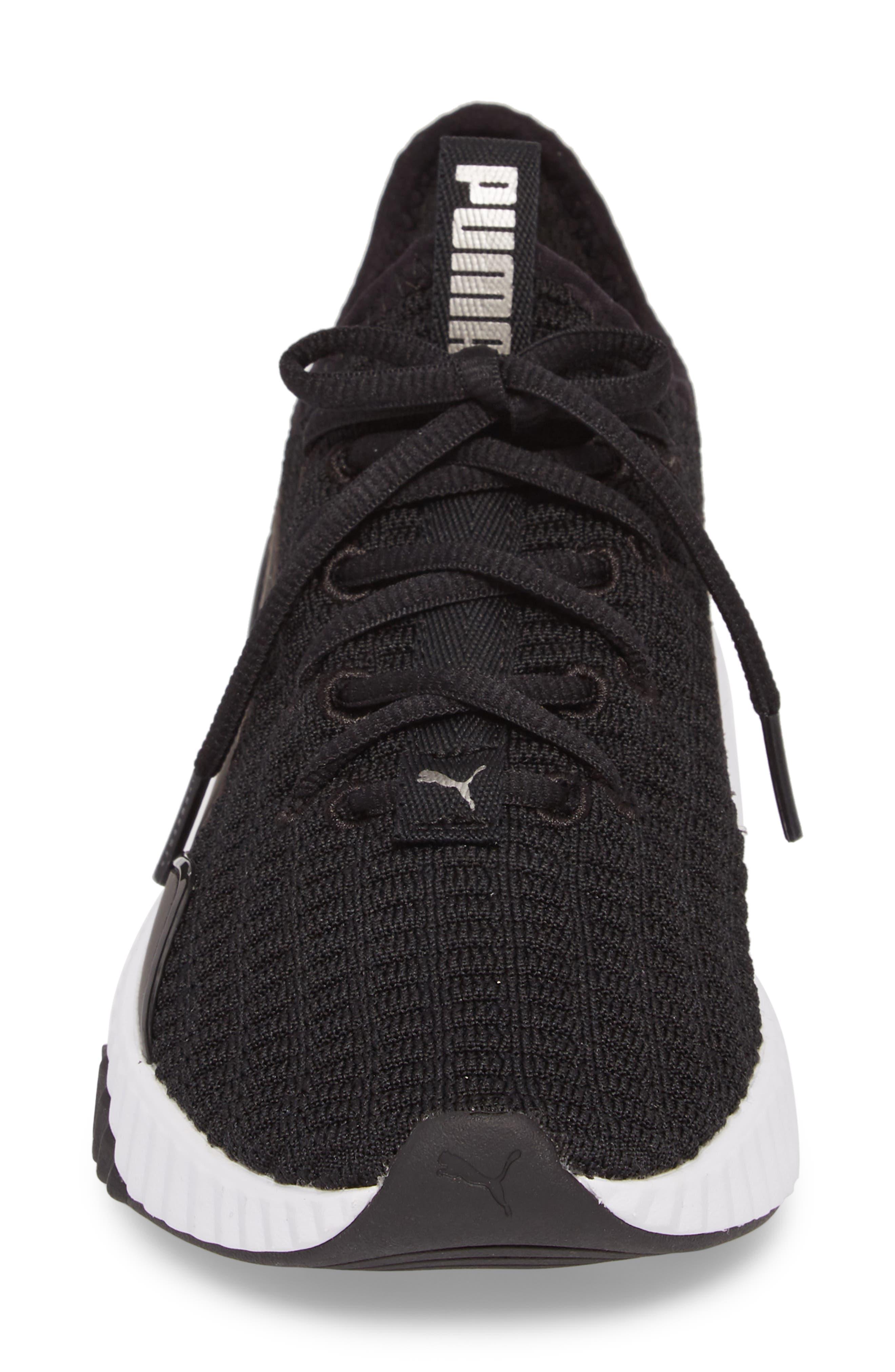 Defy Sneaker,                             Alternate thumbnail 4, color,                             001