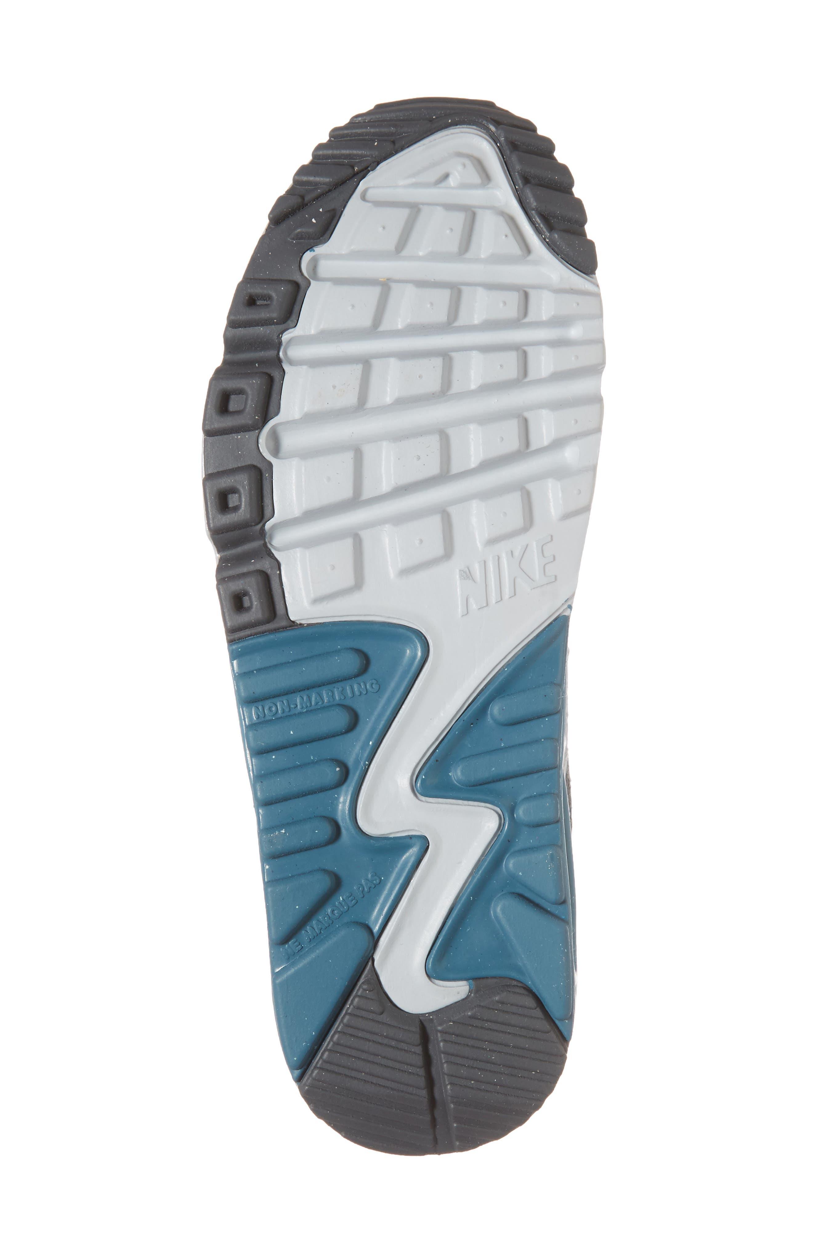 Air Max 90 Sneaker,                             Alternate thumbnail 6, color,                             040