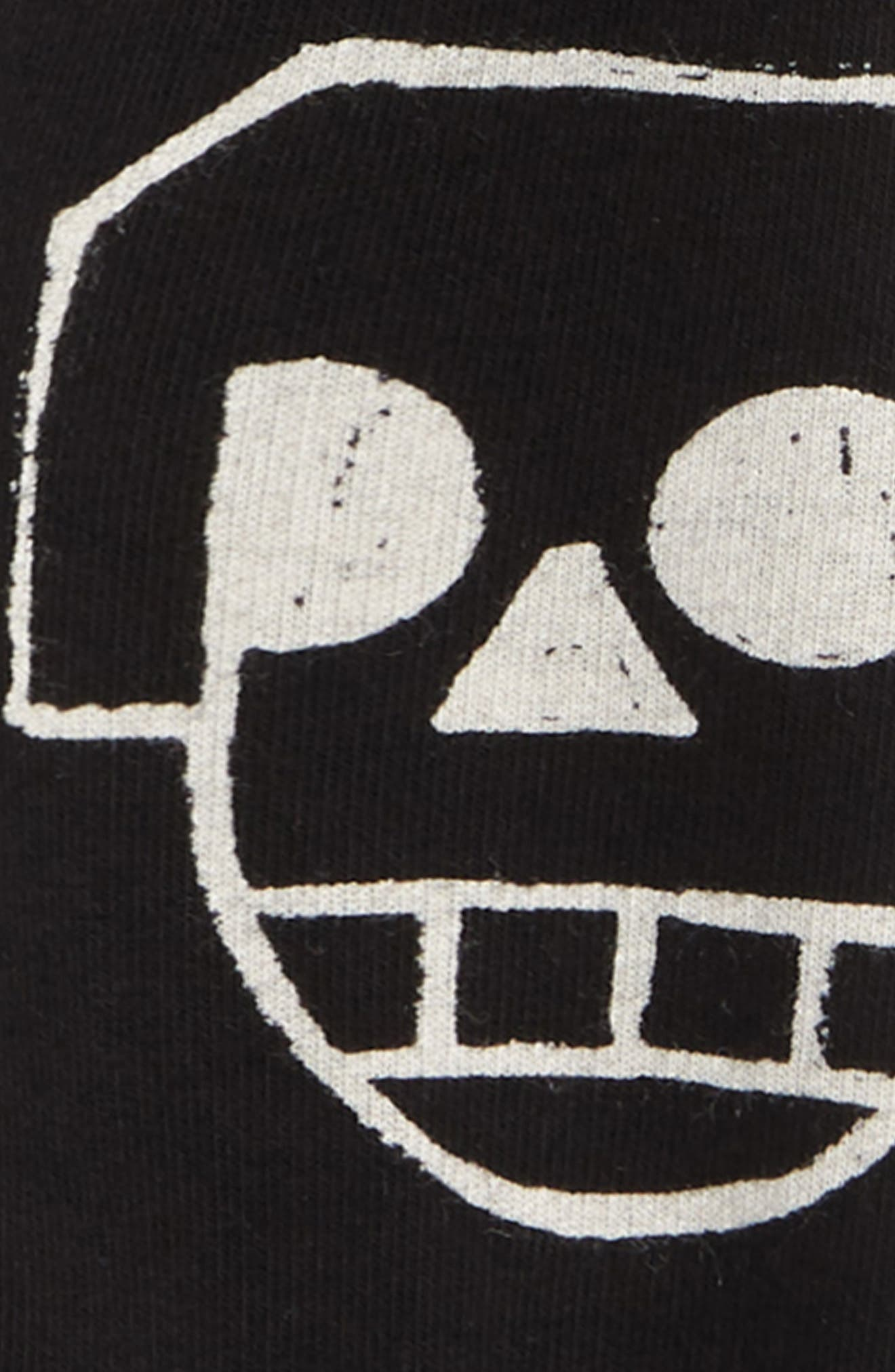 Skull Robot Baggy Sweatpants,                             Alternate thumbnail 2, color,                             001