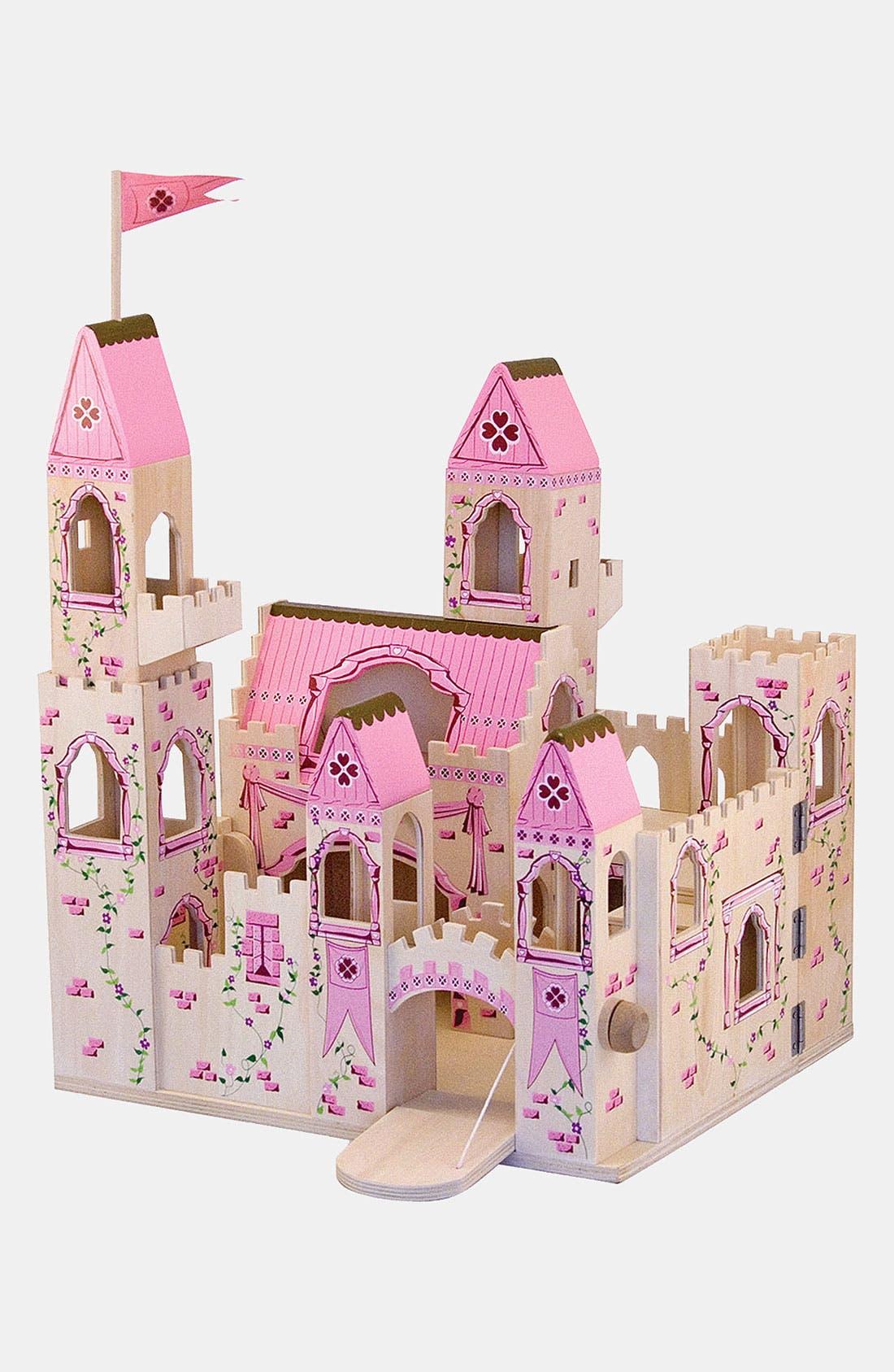 Wood Play Castle,                             Alternate thumbnail 7, color,