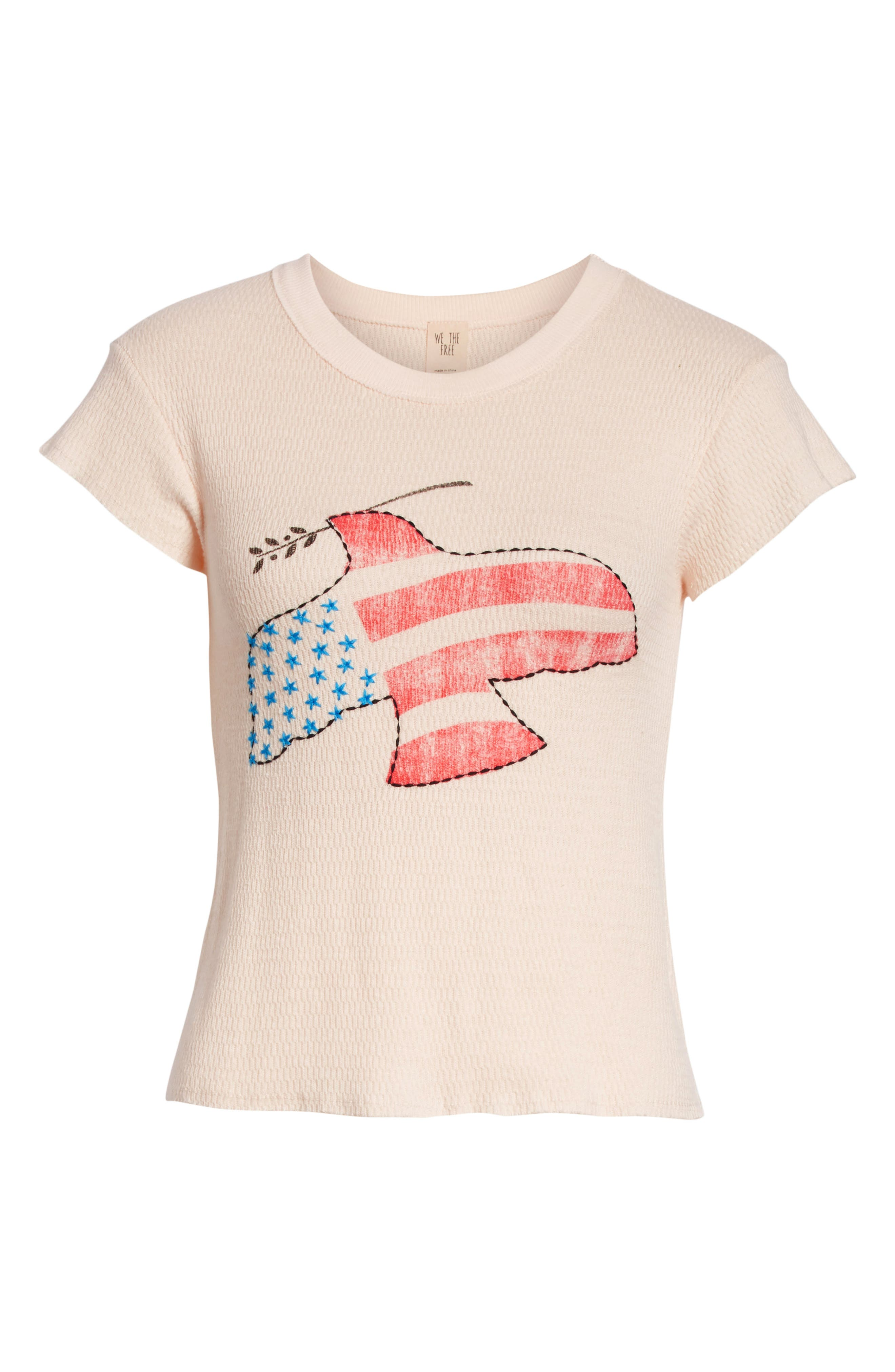 We the Free by Free People Love Dove Tee,                             Alternate thumbnail 6, color,                             903