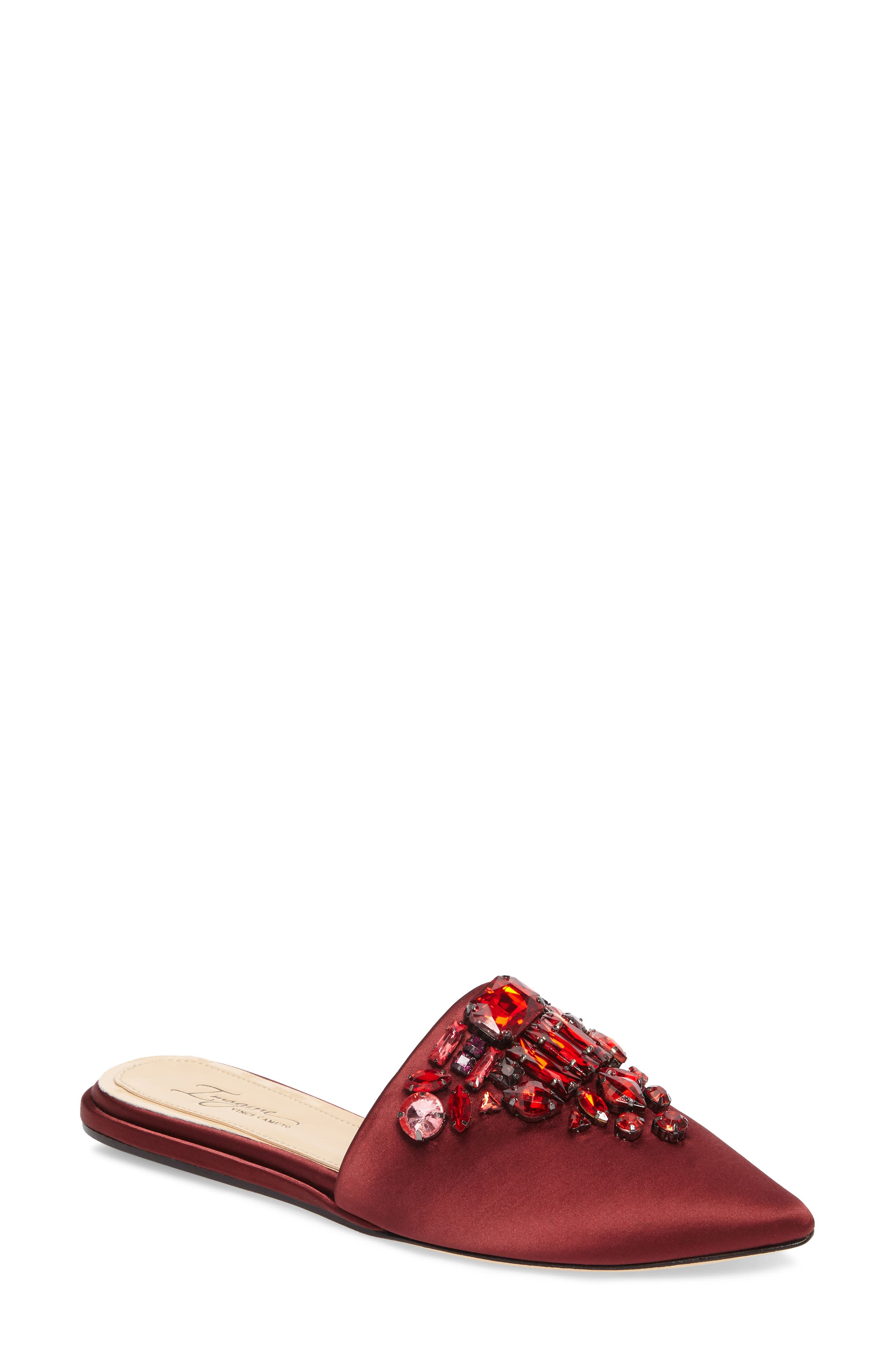 Imagine Vince Camuto Caide Embellished Mule,                             Main thumbnail 3, color,
