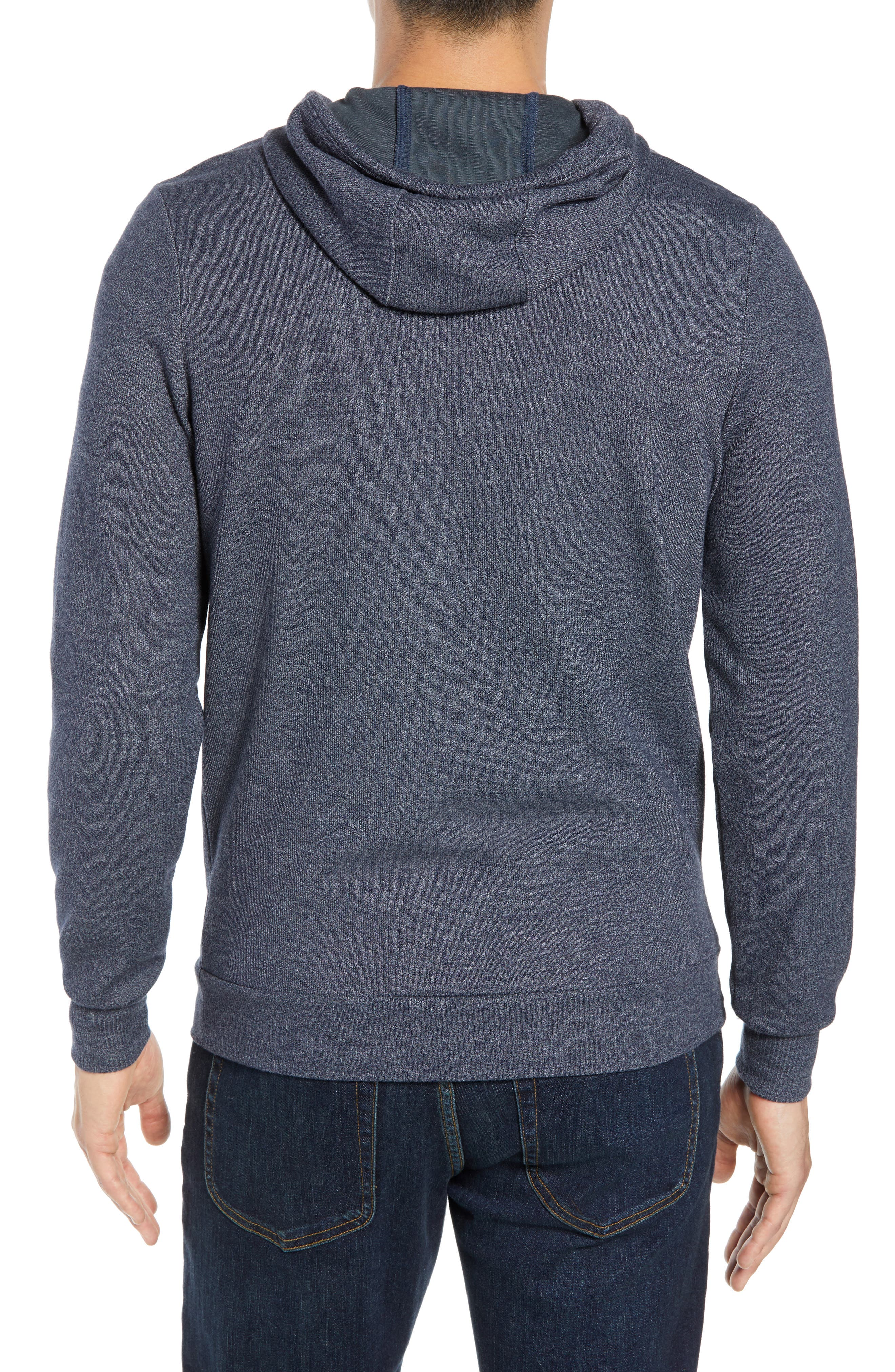 TRAVIS MATHEW,                             Snare Zip Front Hooded Cardigan,                             Alternate thumbnail 2, color,                             400