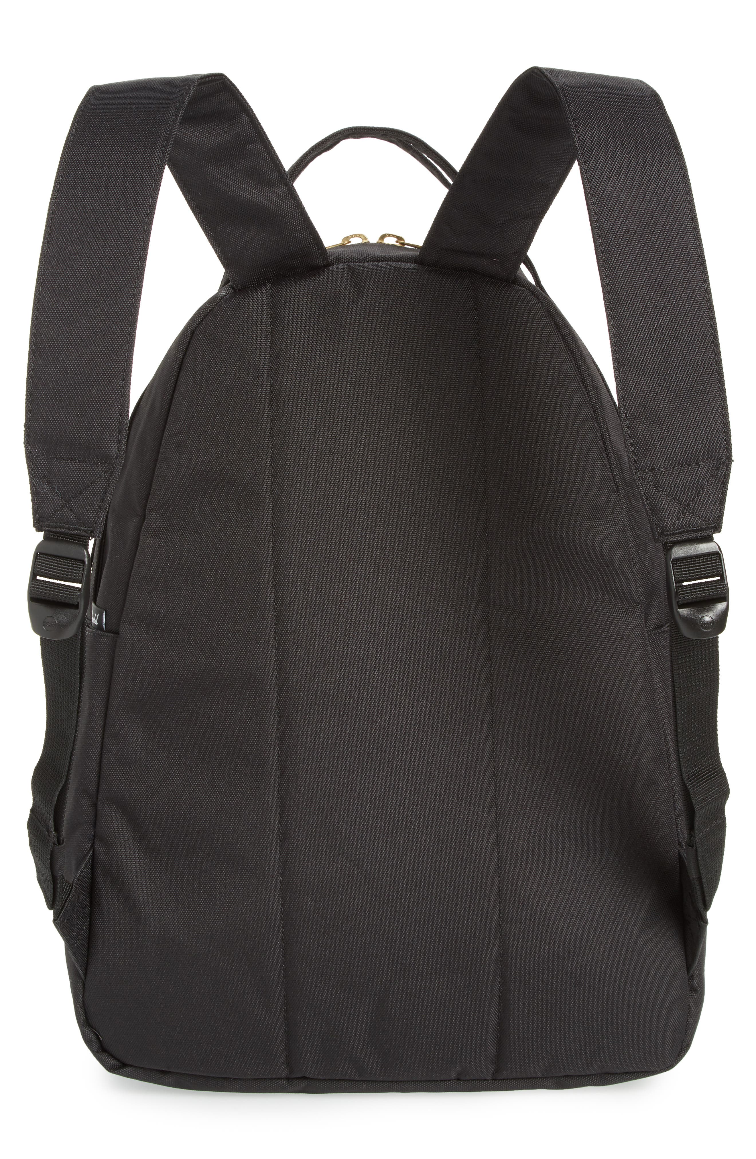HERSCHEL SUPPLY CO.,                             Nova Mid Volume Backpack,                             Alternate thumbnail 3, color,                             BLACK