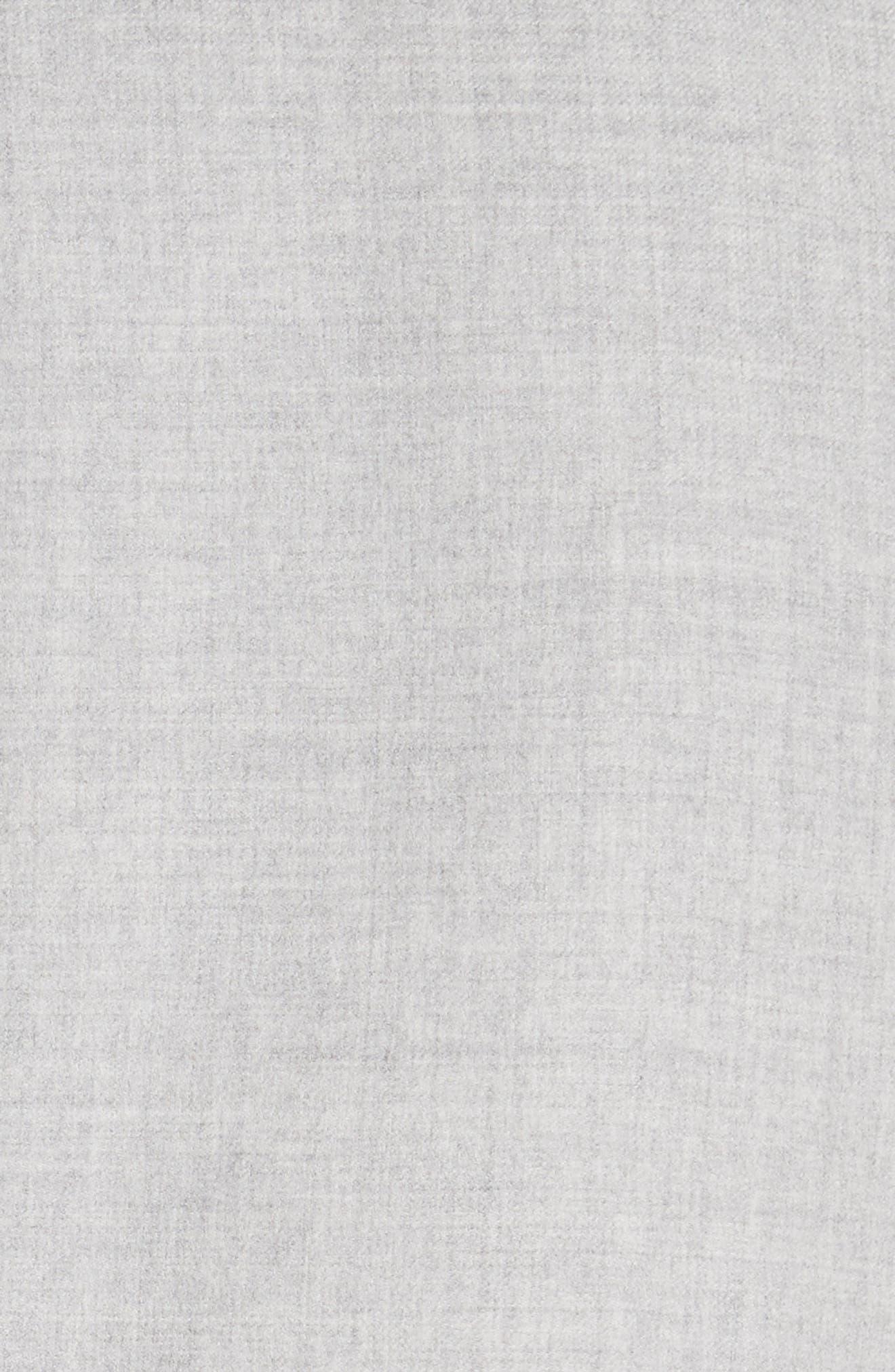 Stretch Wool & Silk Bicolor Reversible Jacket,                             Alternate thumbnail 6, color,                             020