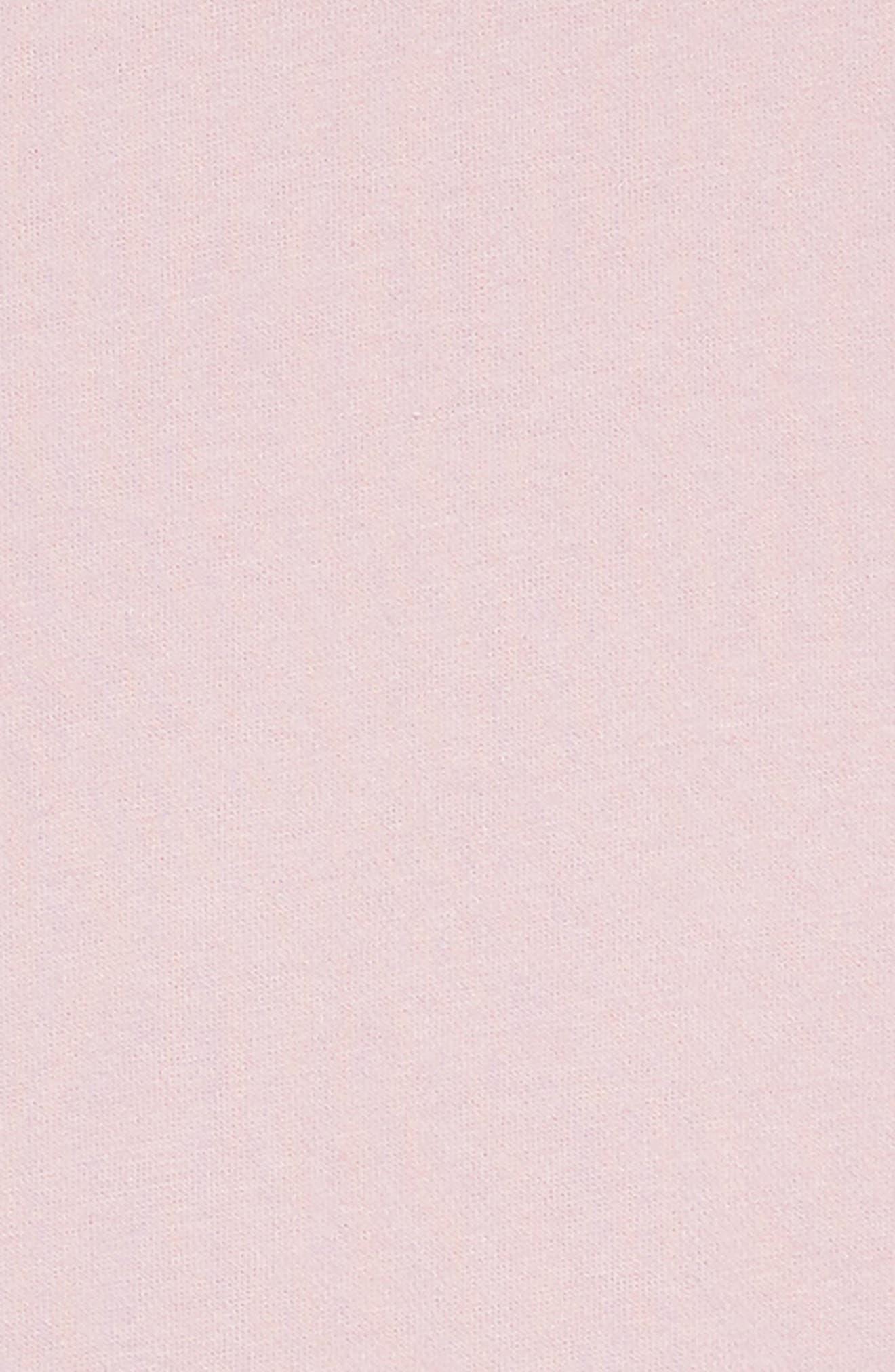 Ruffle Sleeve Hoodie Dress,                             Alternate thumbnail 3, color,                             650
