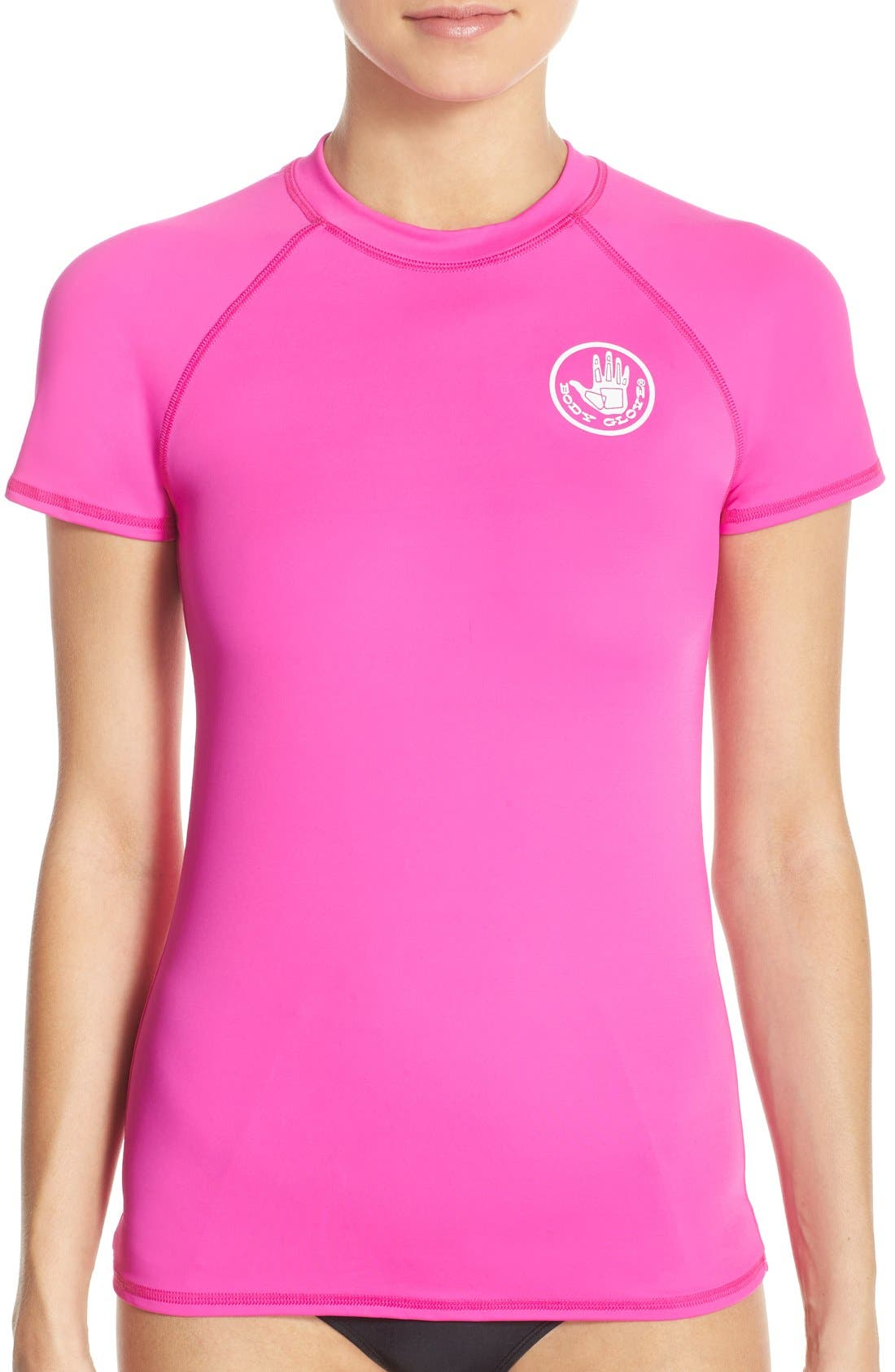 'Smoothies in Motion' Short Sleeve Rashguard,                             Main thumbnail 5, color,