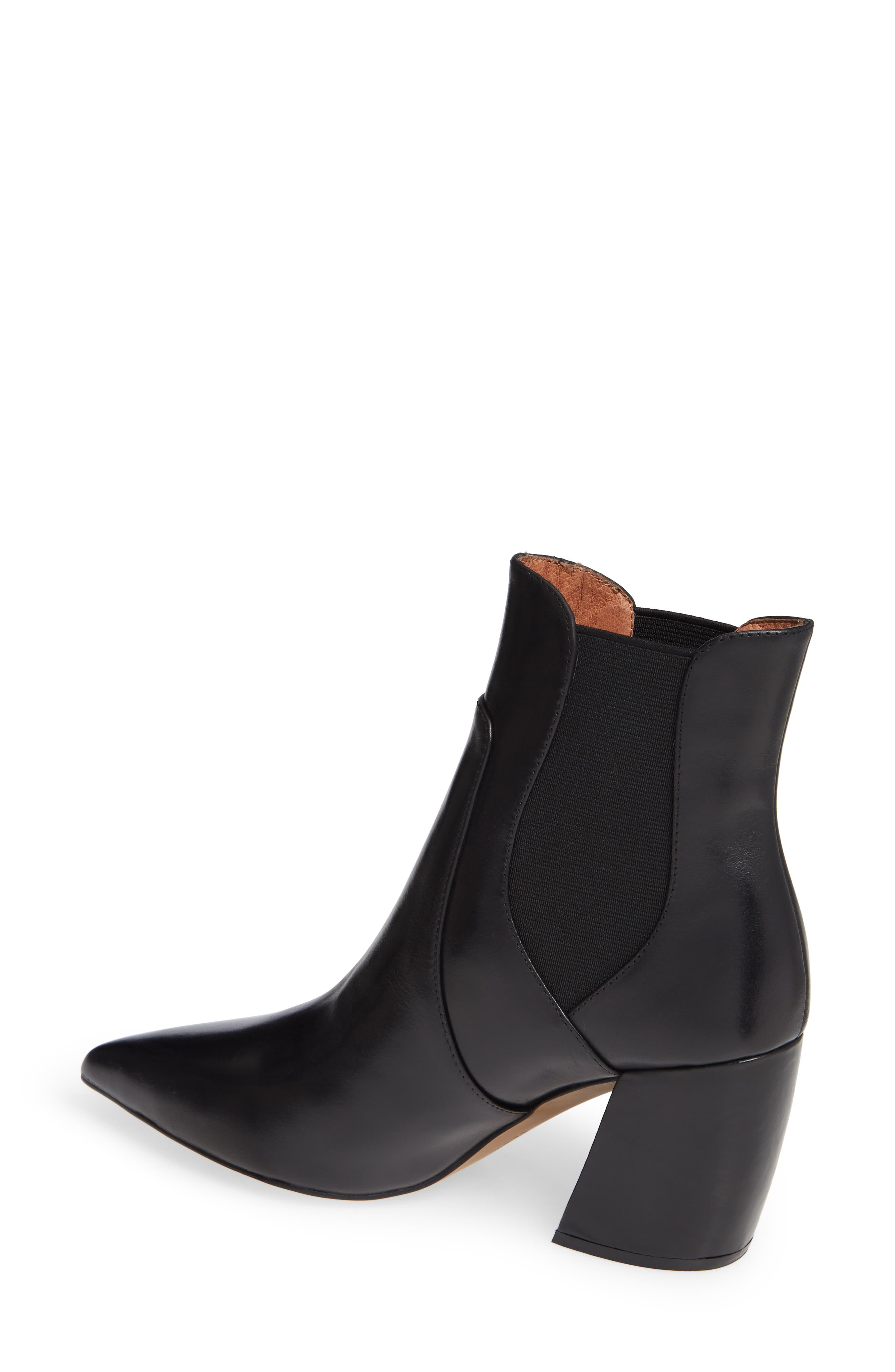 Akilina Bootie,                             Alternate thumbnail 2, color,                             BLACK LEATHER