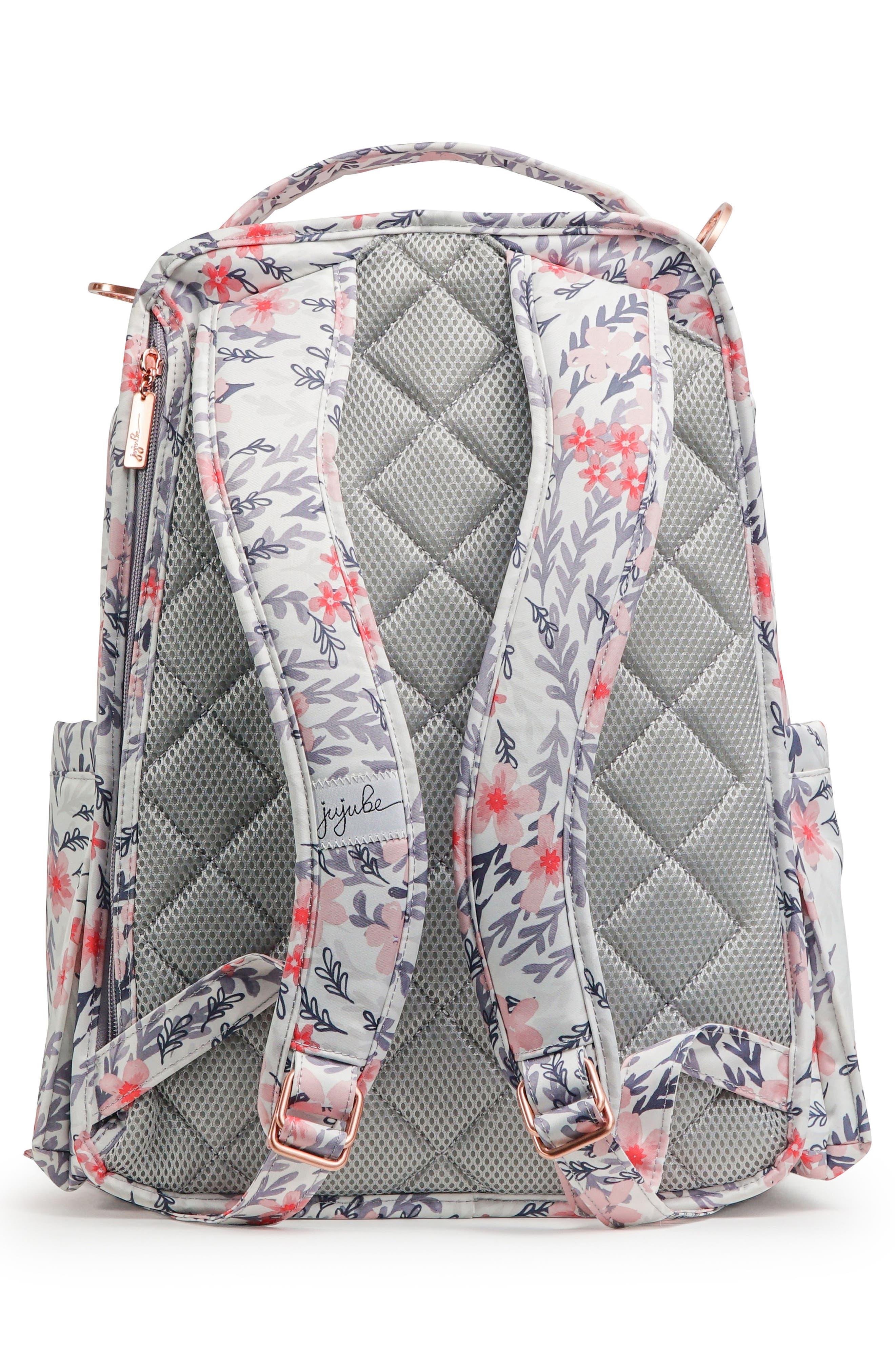 Be Right Back Diaper Backpack,                             Alternate thumbnail 3, color,                             SAKURA SWIRL