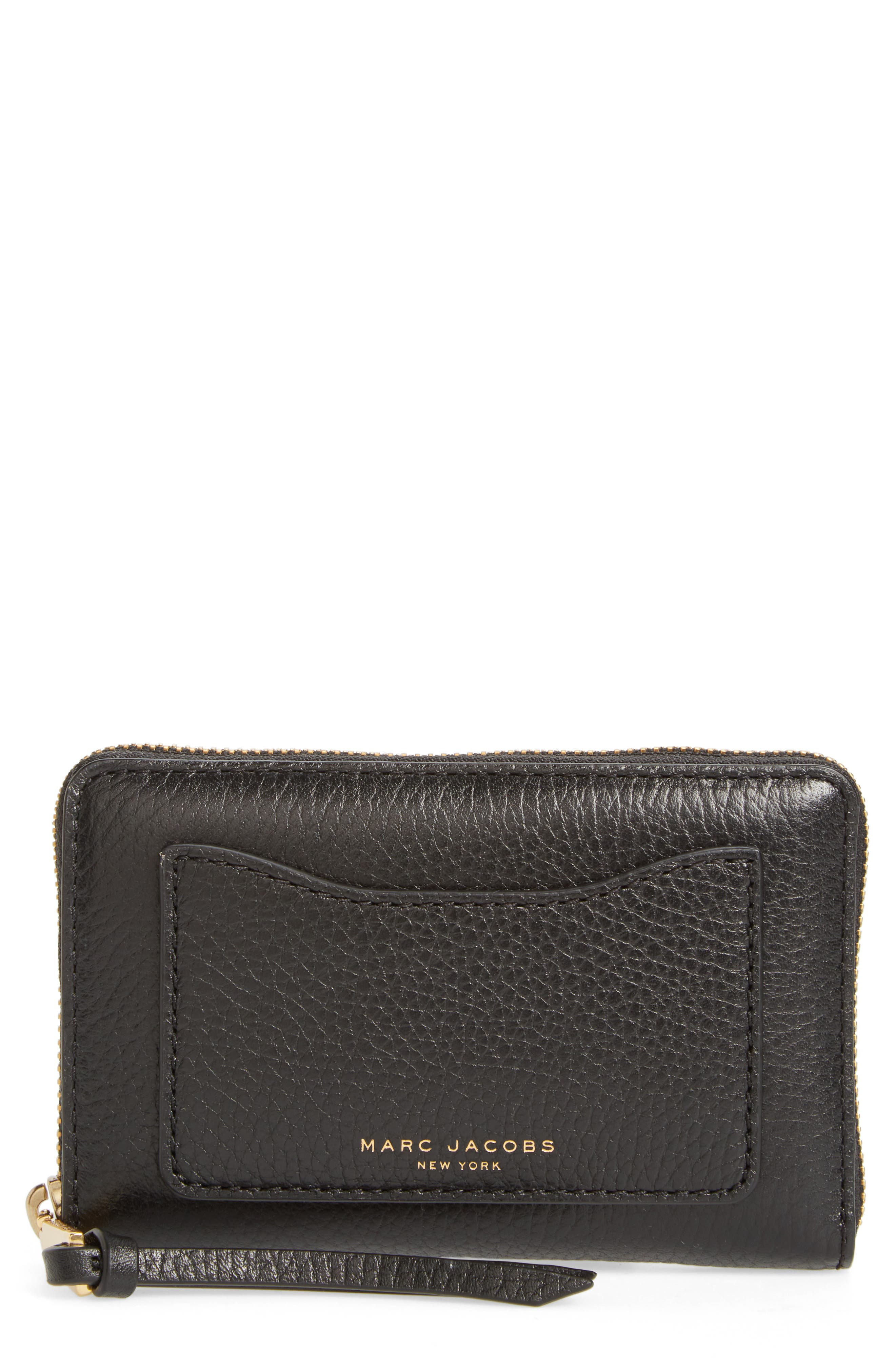Small Recruit Standard Continental Wallet,                             Main thumbnail 1, color,                             001