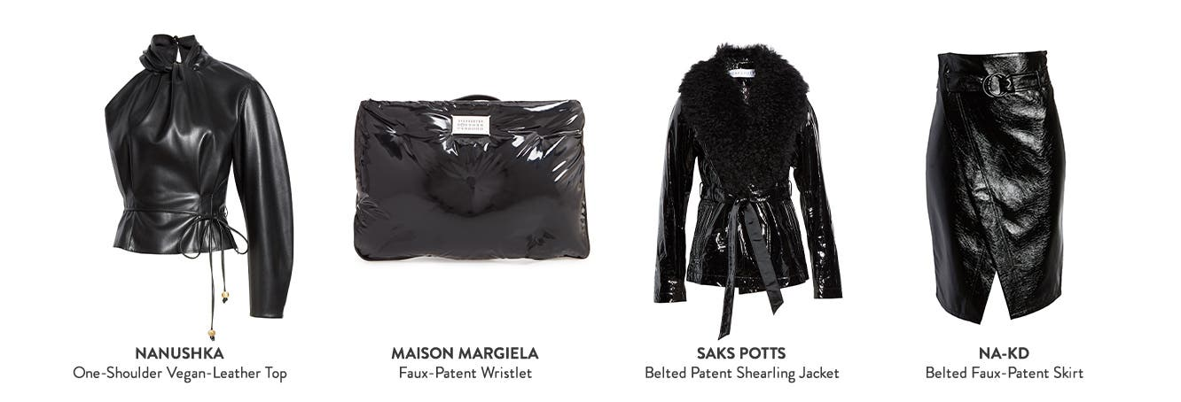 Get ahead with high-shine essentials from FW20 New York Fashion Week.