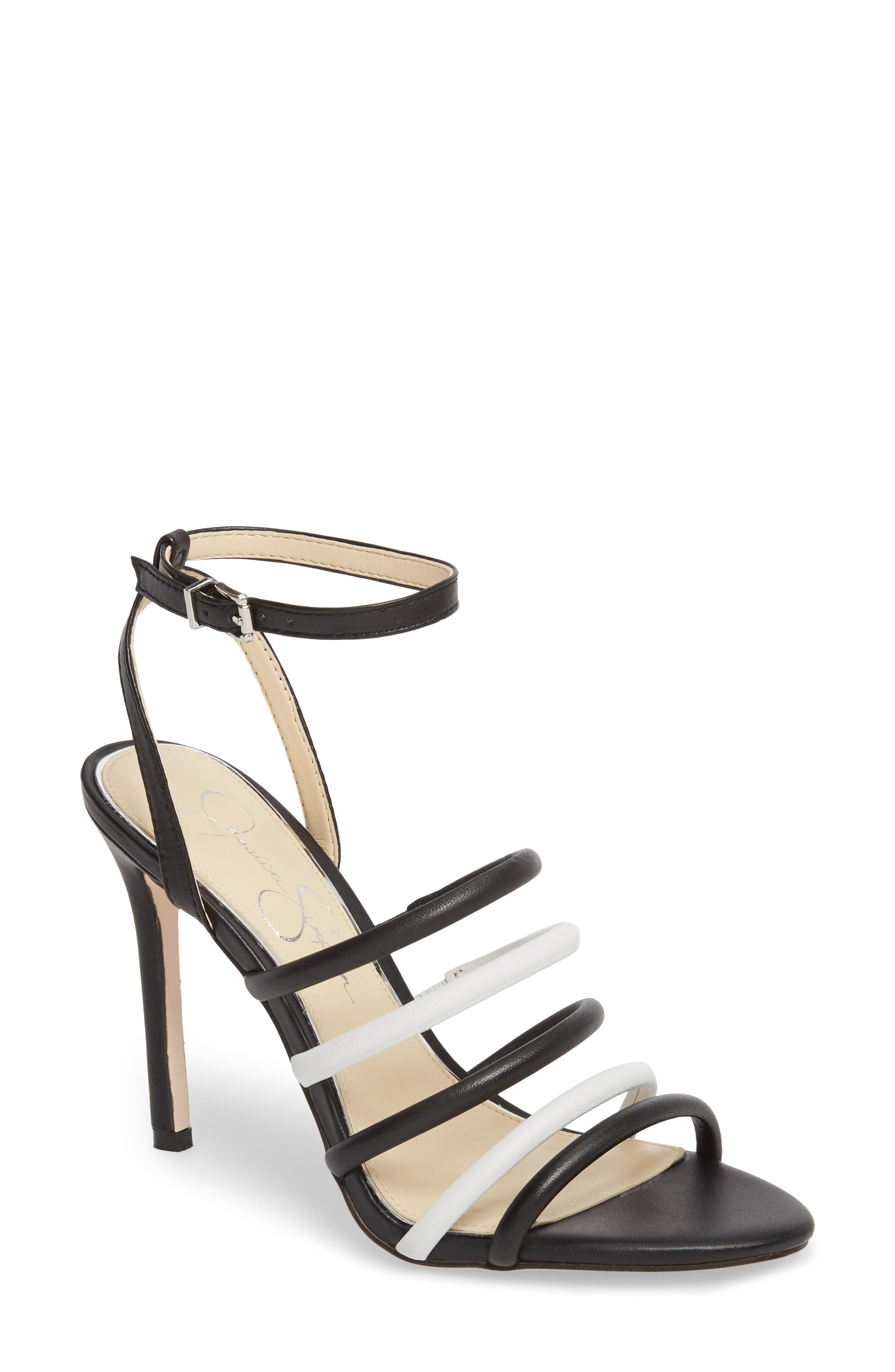 Joselle Strappy Sandal,                             Main thumbnail 1, color,